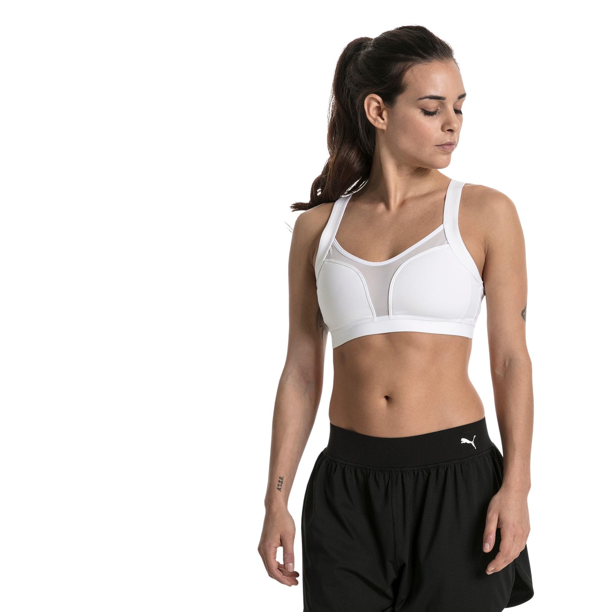 Thumbnail 2 of Soutien-gorge de sport Training Curl pour femme, Puma White, medium