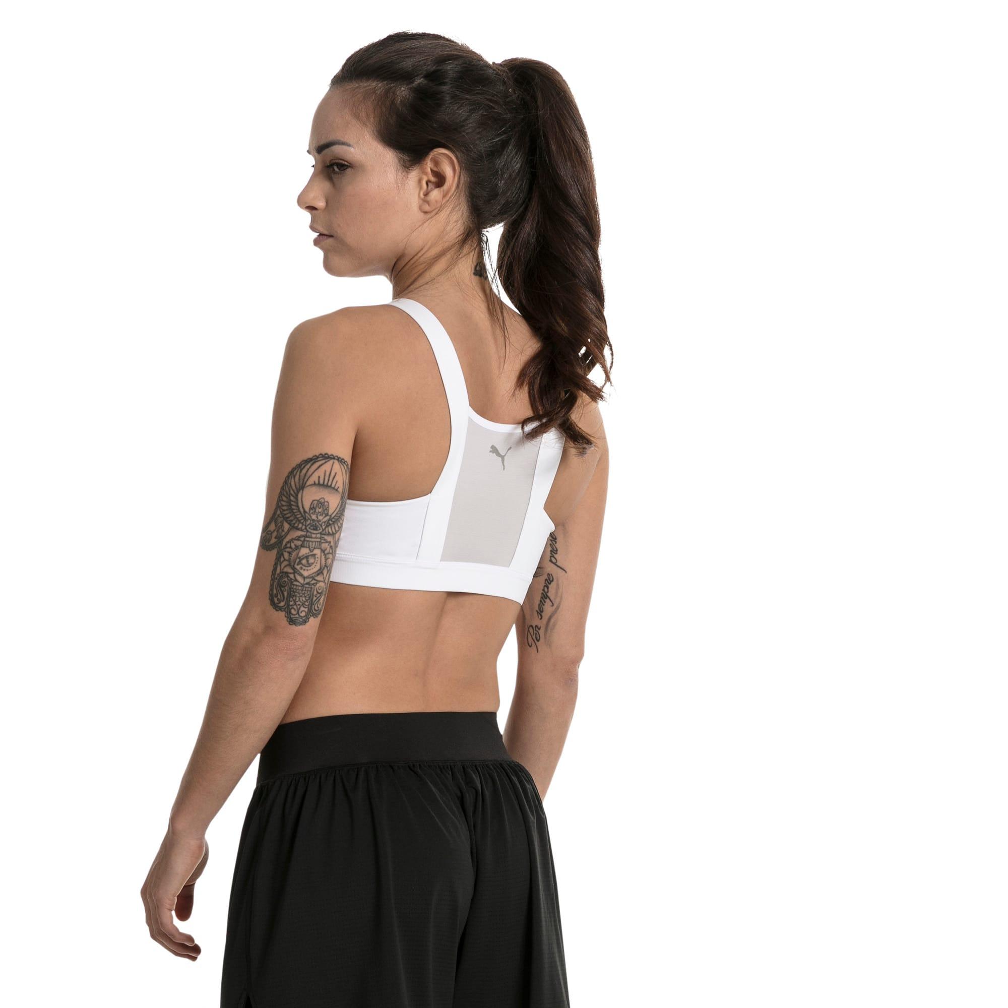 Thumbnail 3 of Soutien-gorge de sport Training Curl pour femme, Puma White, medium