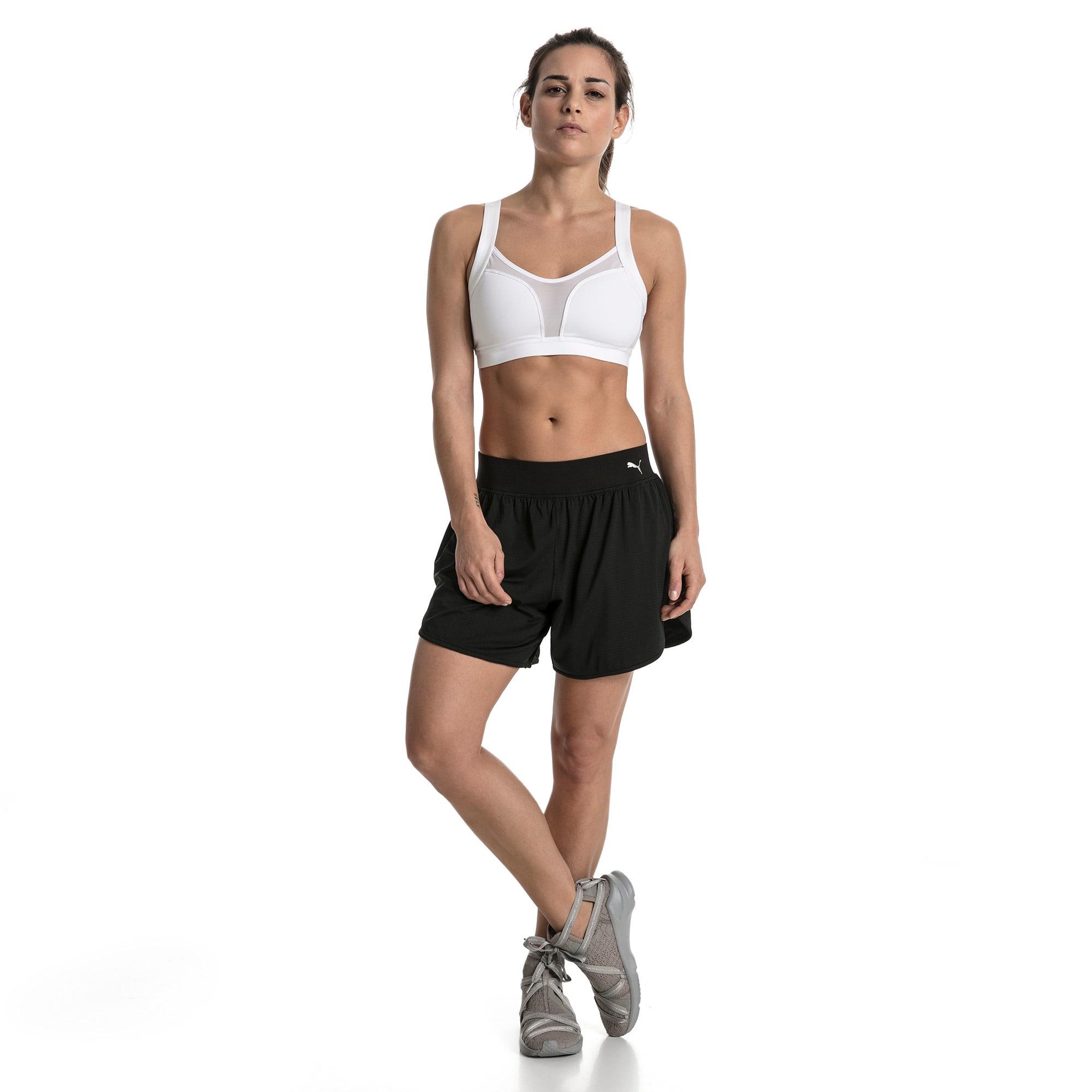 Thumbnail 5 of Soutien-gorge de sport Training Curl pour femme, Puma White, medium