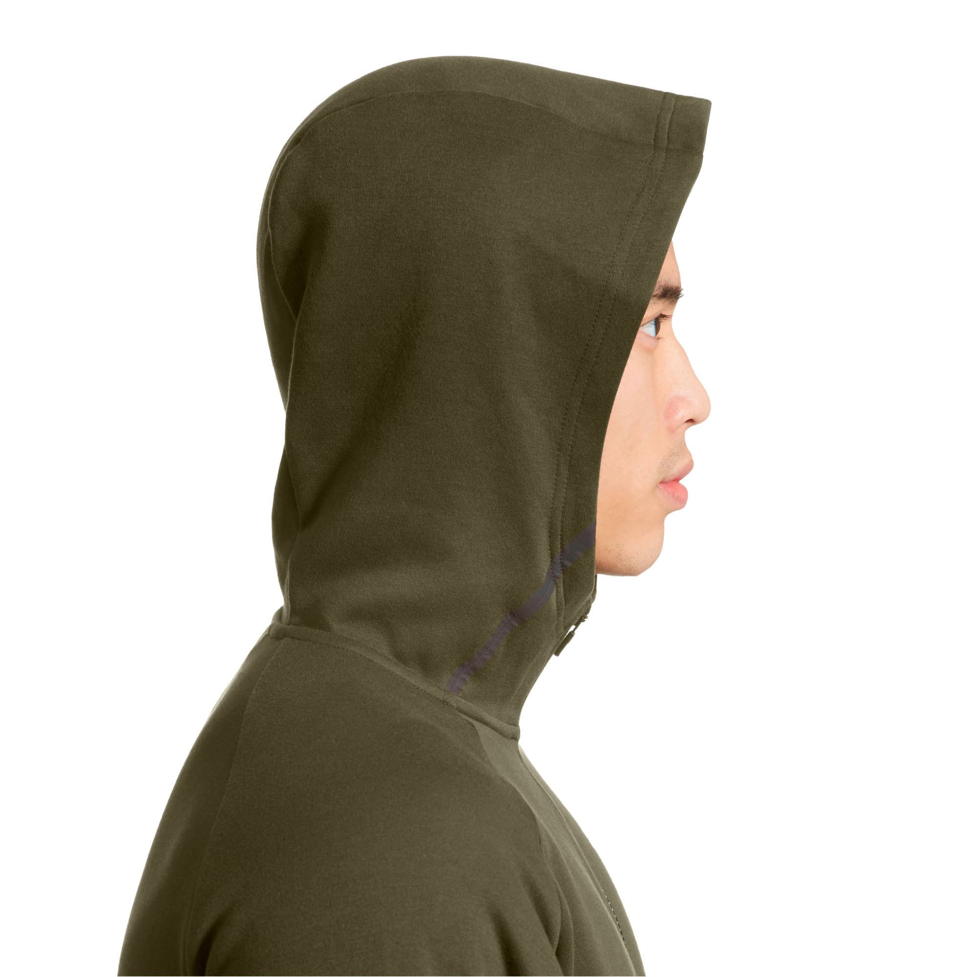 Thumbnail 4 of BND Tech Protect Zip-Up Hooded Men's Jacket, Forest Night, medium