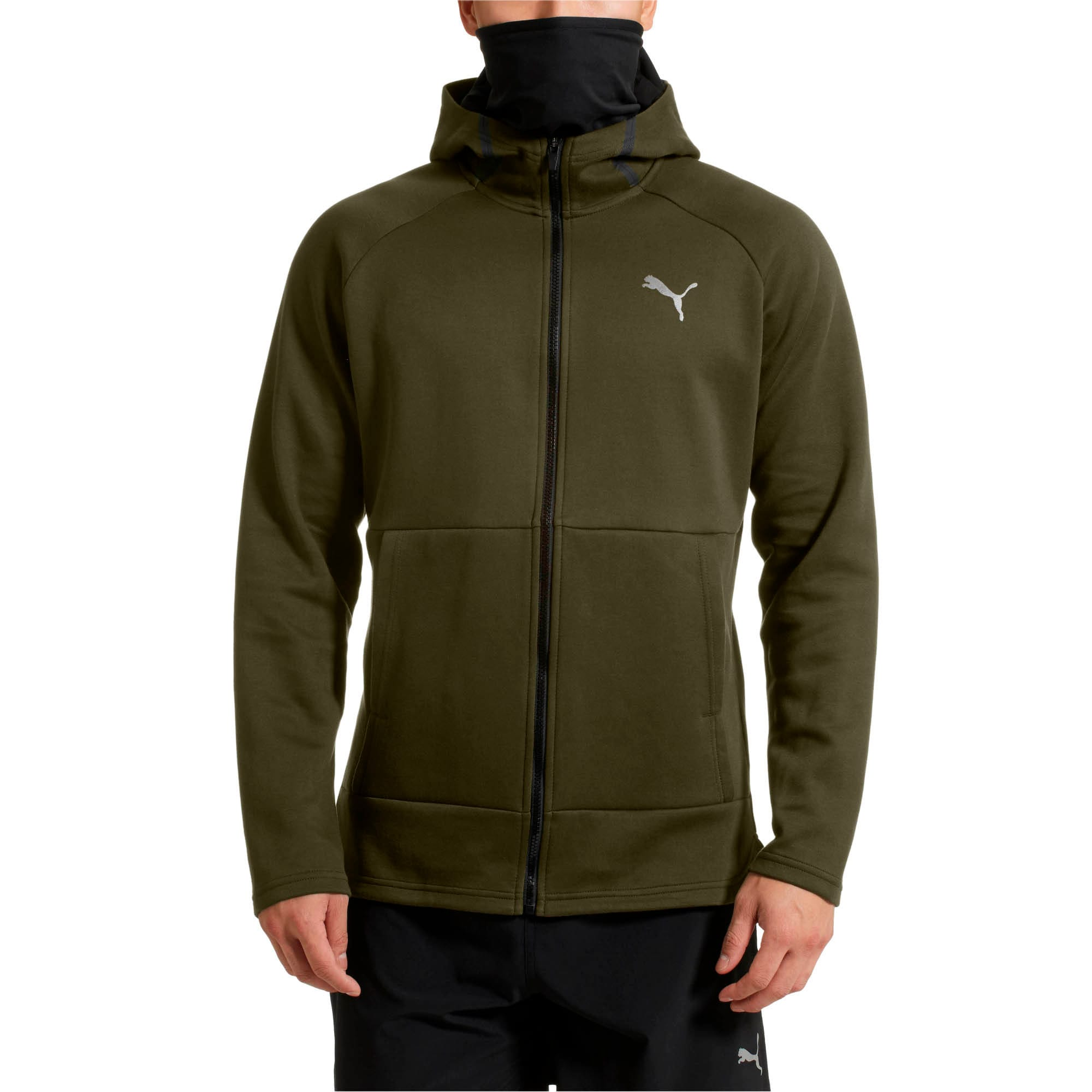 Thumbnail 2 of BND Tech Protect Zip-Up Hooded Men's Jacket, Forest Night, medium