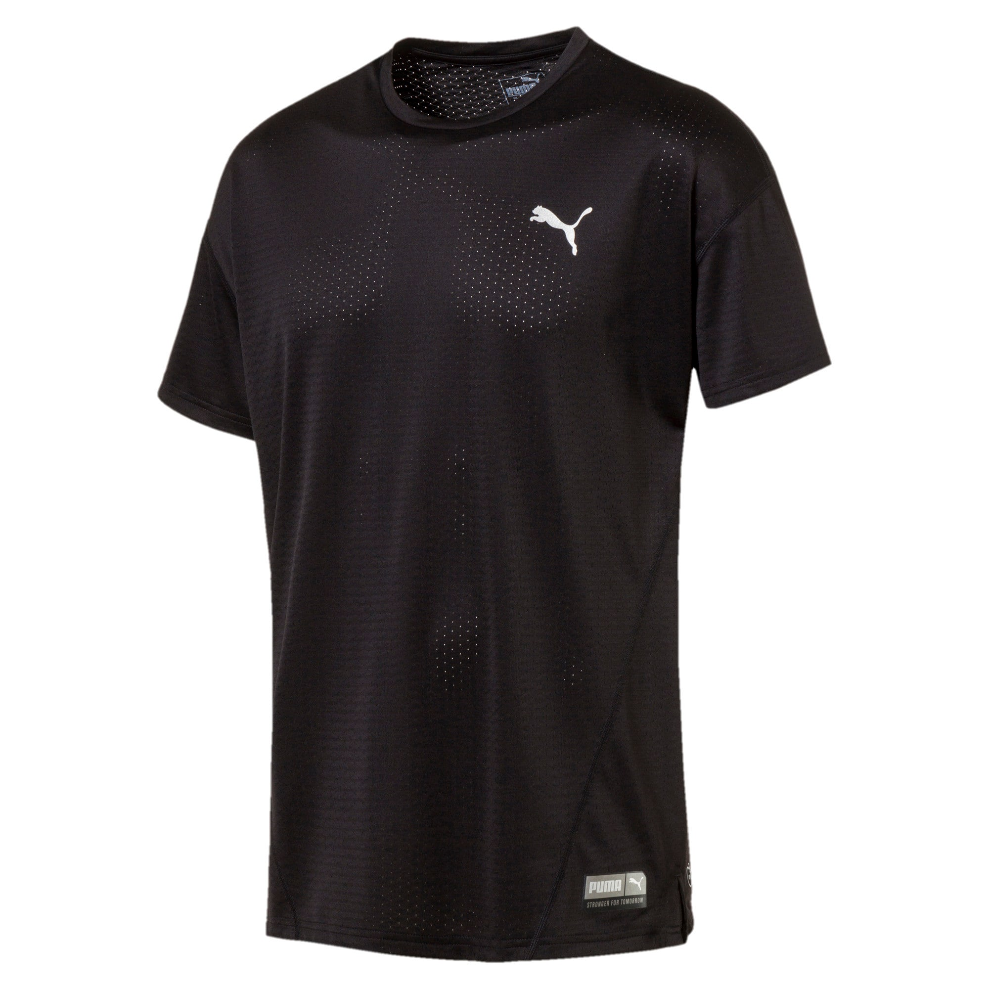Thumbnail 1 of A.C.E. Short Sleeve Men's Training Top, Puma Black, medium