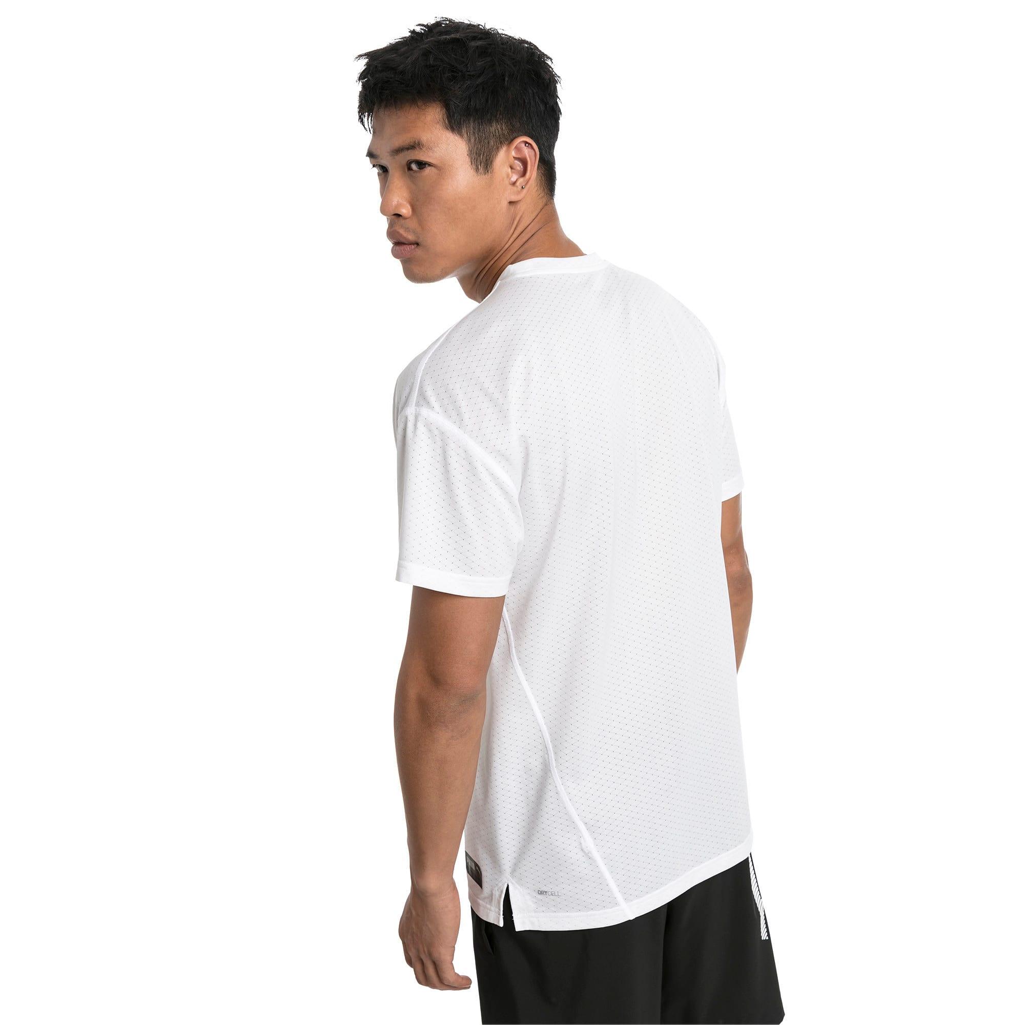 Thumbnail 2 of A.C.E. Short Sleeve Men's Training Top, Puma White, medium