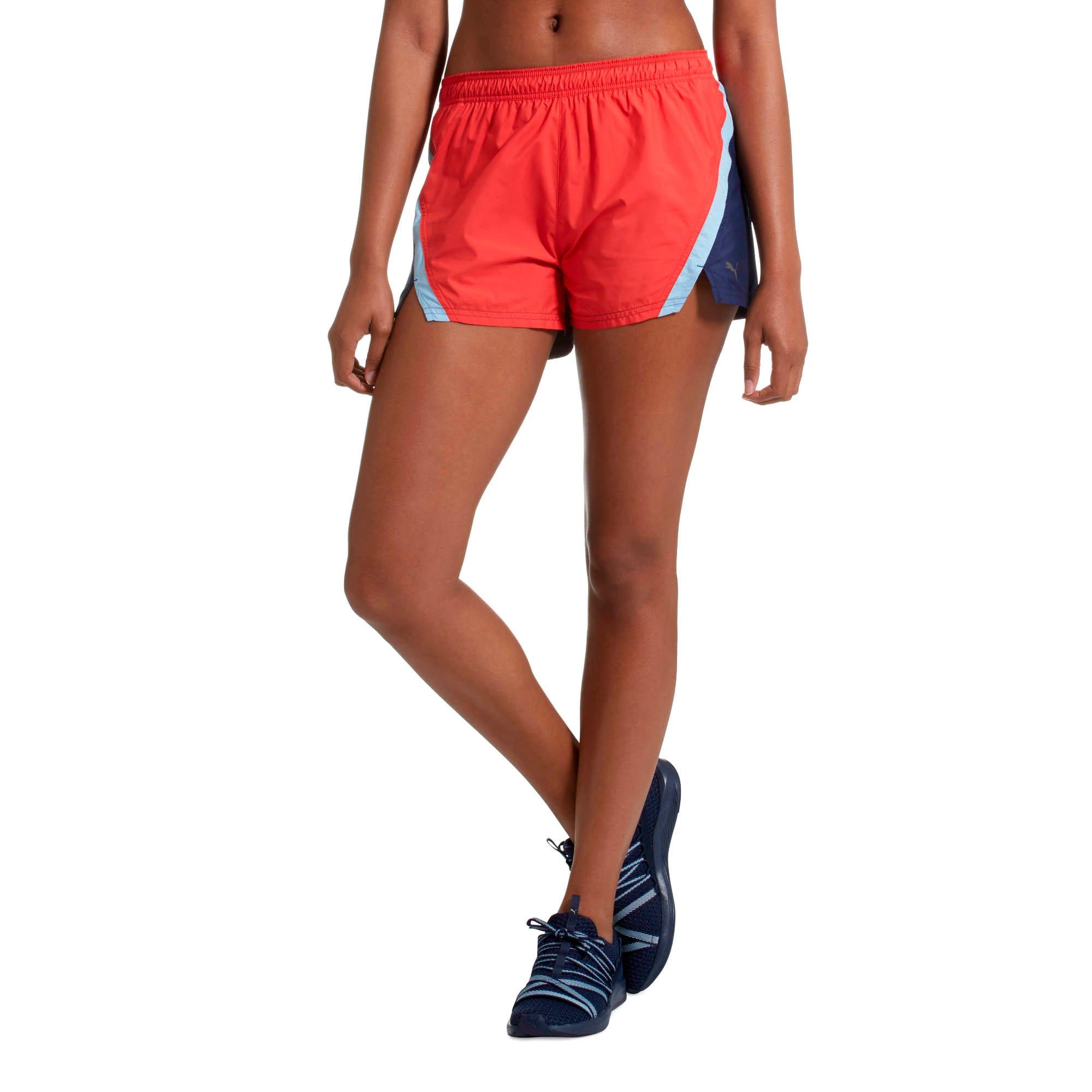 Thumbnail 2 of Blast 3'' Women's Training Shorts, Ribbon Red, medium