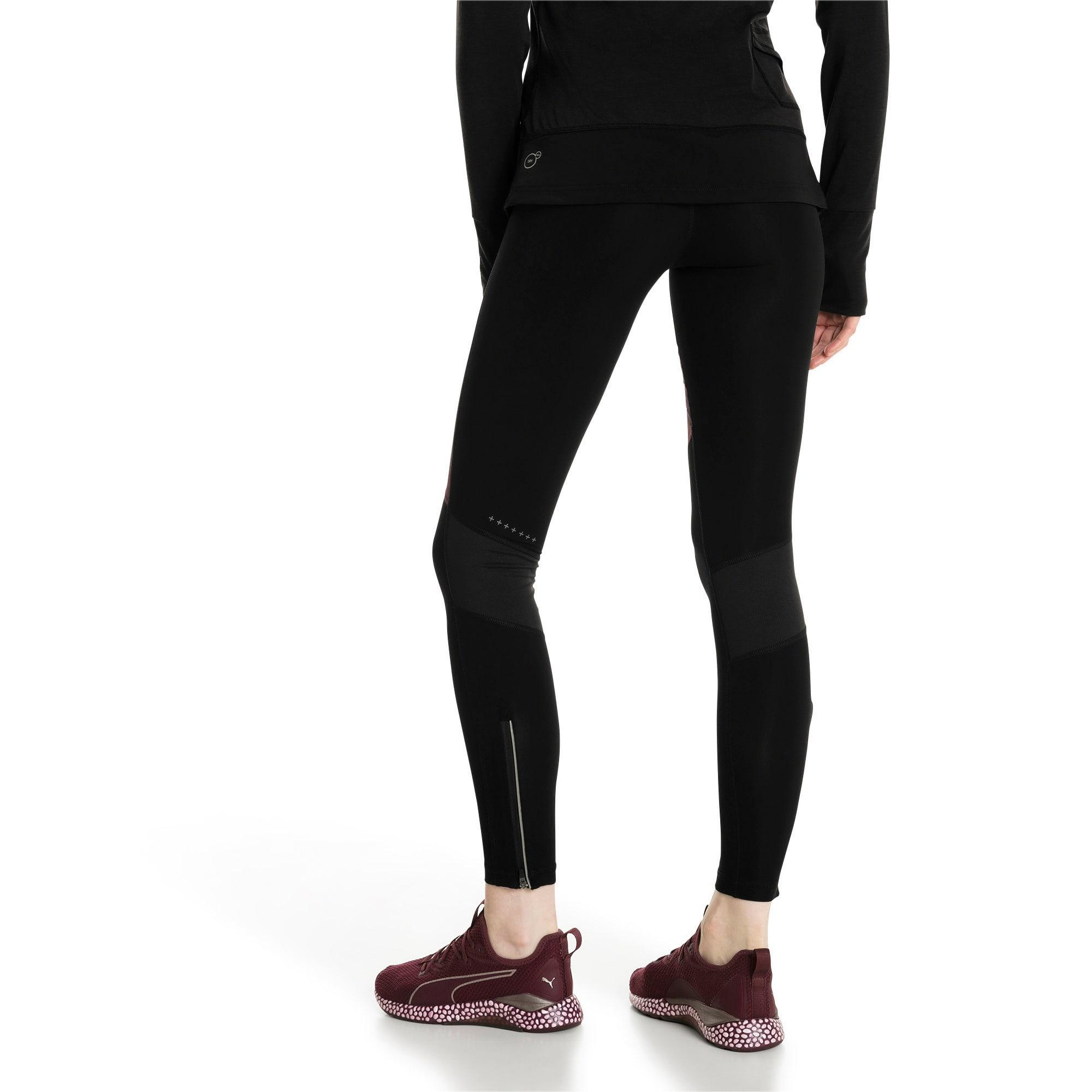 Thumbnail 3 of Winter Women's Long Tights, Fig-Puma Black, medium