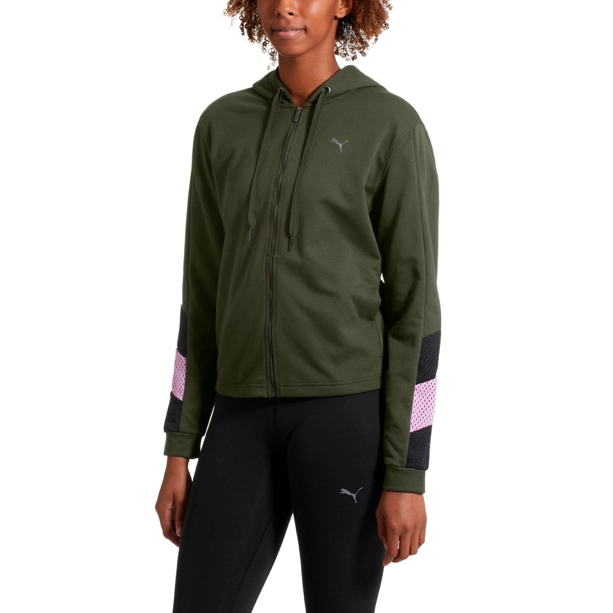 Thumbnail 2 of Training Women's A.C.E. Sweat Jacket, Forest Night, medium