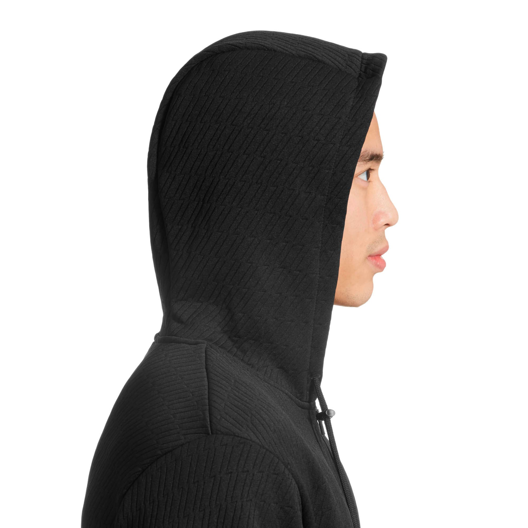Thumbnail 3 of VENT Hooded Jacket, Puma Black, medium