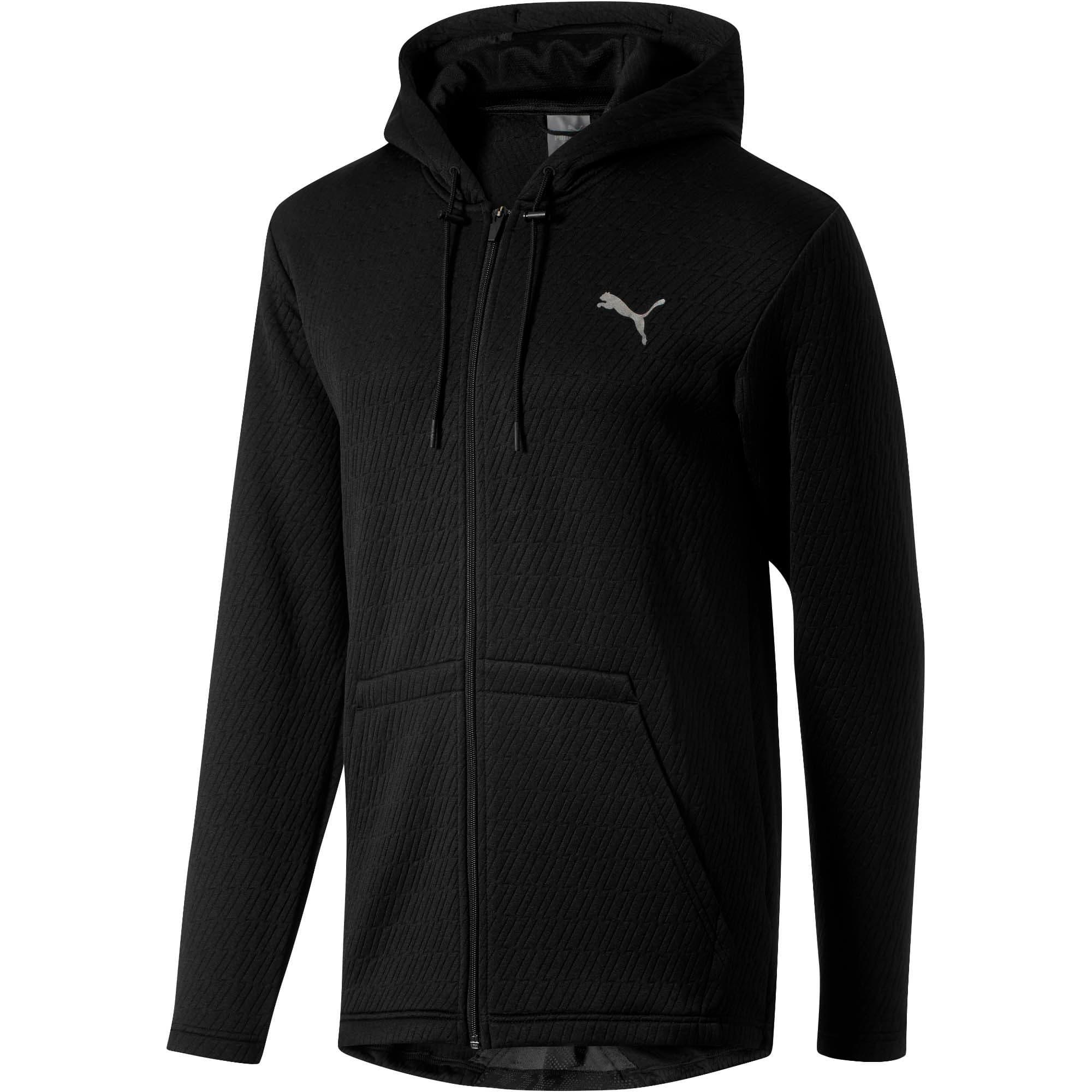 Thumbnail 1 of VENT Hooded Jacket, Puma Black, medium
