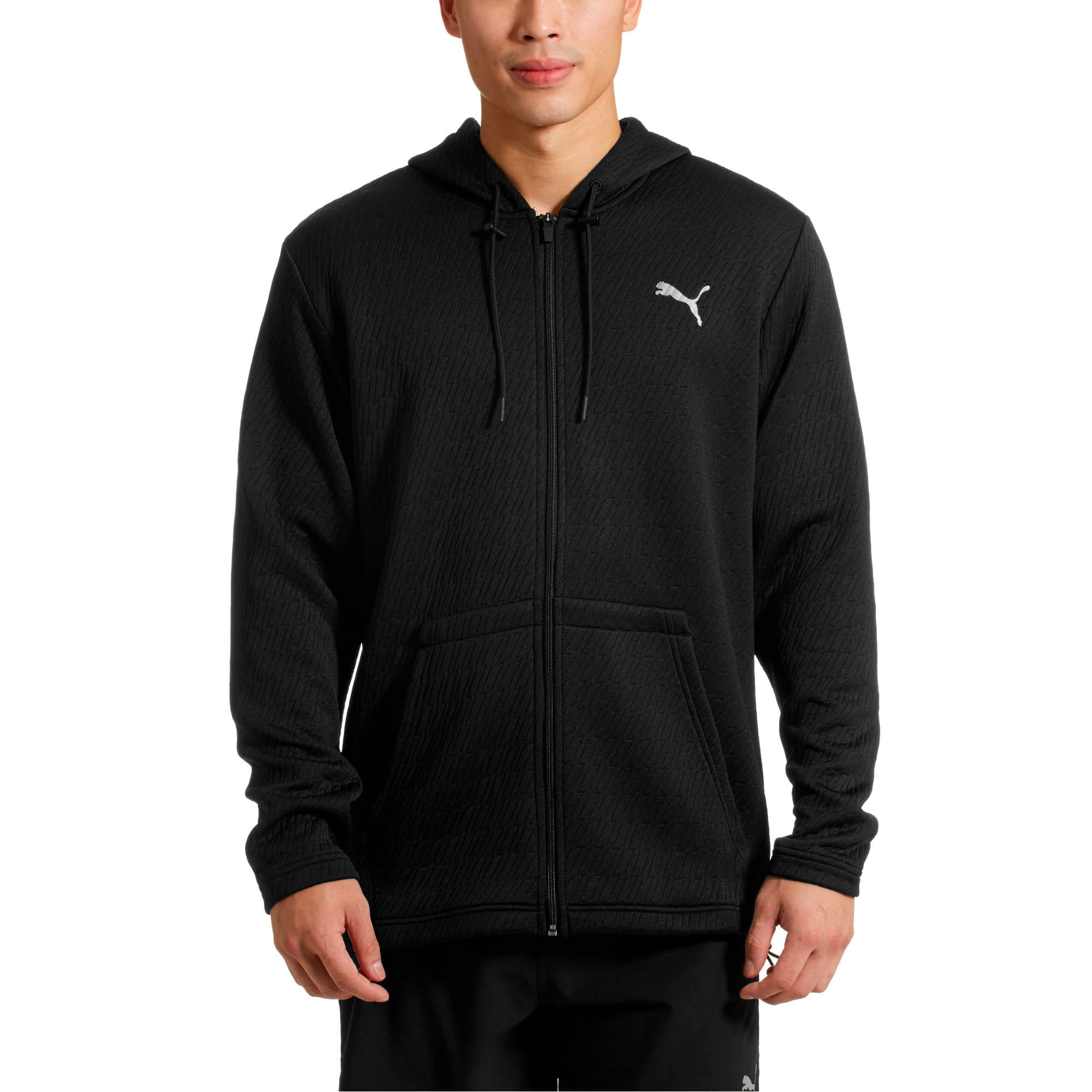 Thumbnail 2 of VENT Hooded Jacket, Puma Black, medium