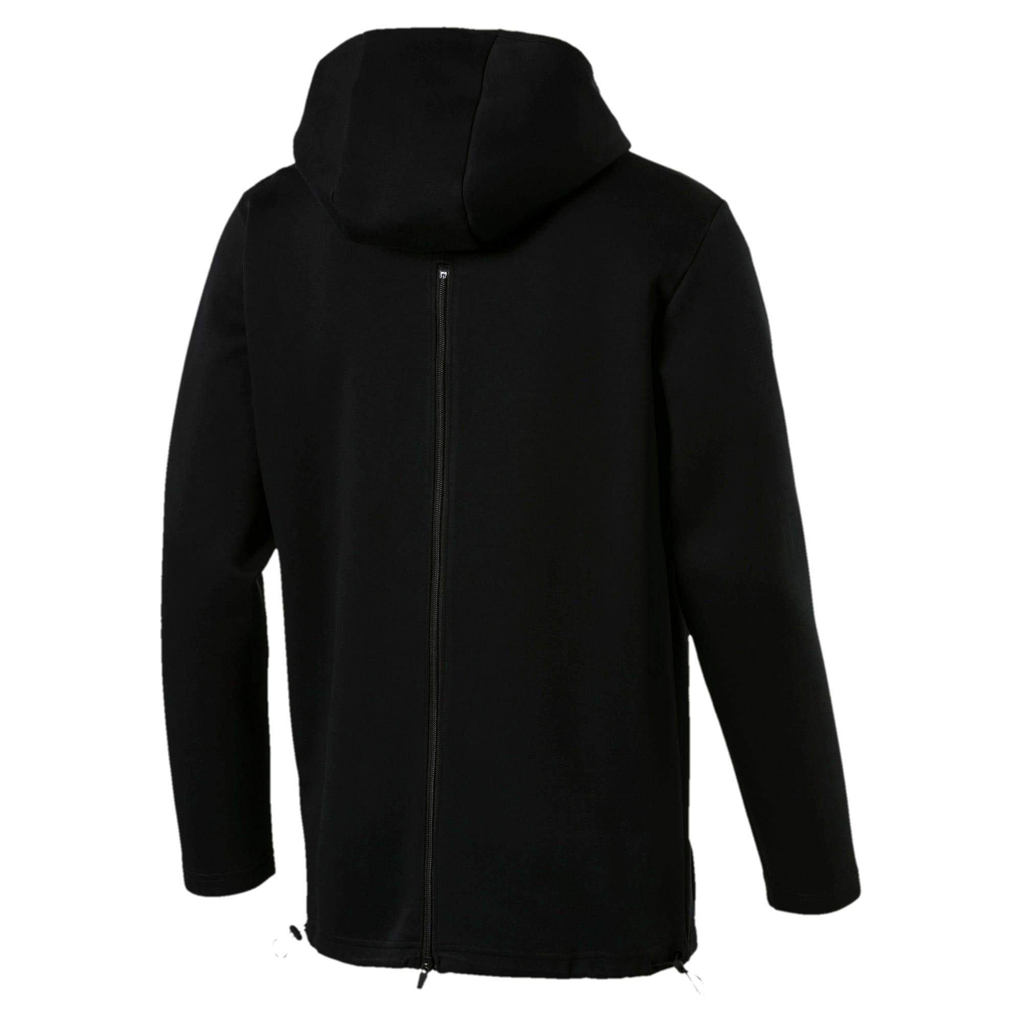 Thumbnail 3 of VENT Zip-Up Hooded Men's Jacket, Puma Black, medium