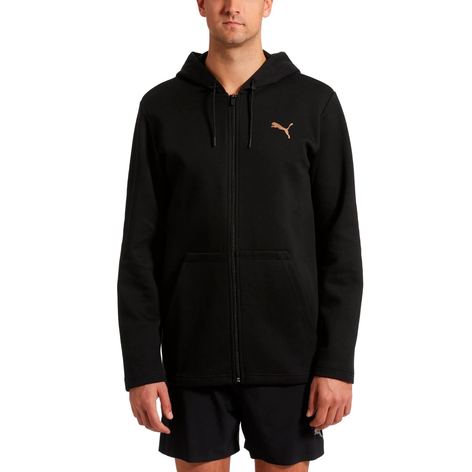 Thumbnail 2 of VENT Zip-Up Hooded Men's Jacket, Puma Black, medium