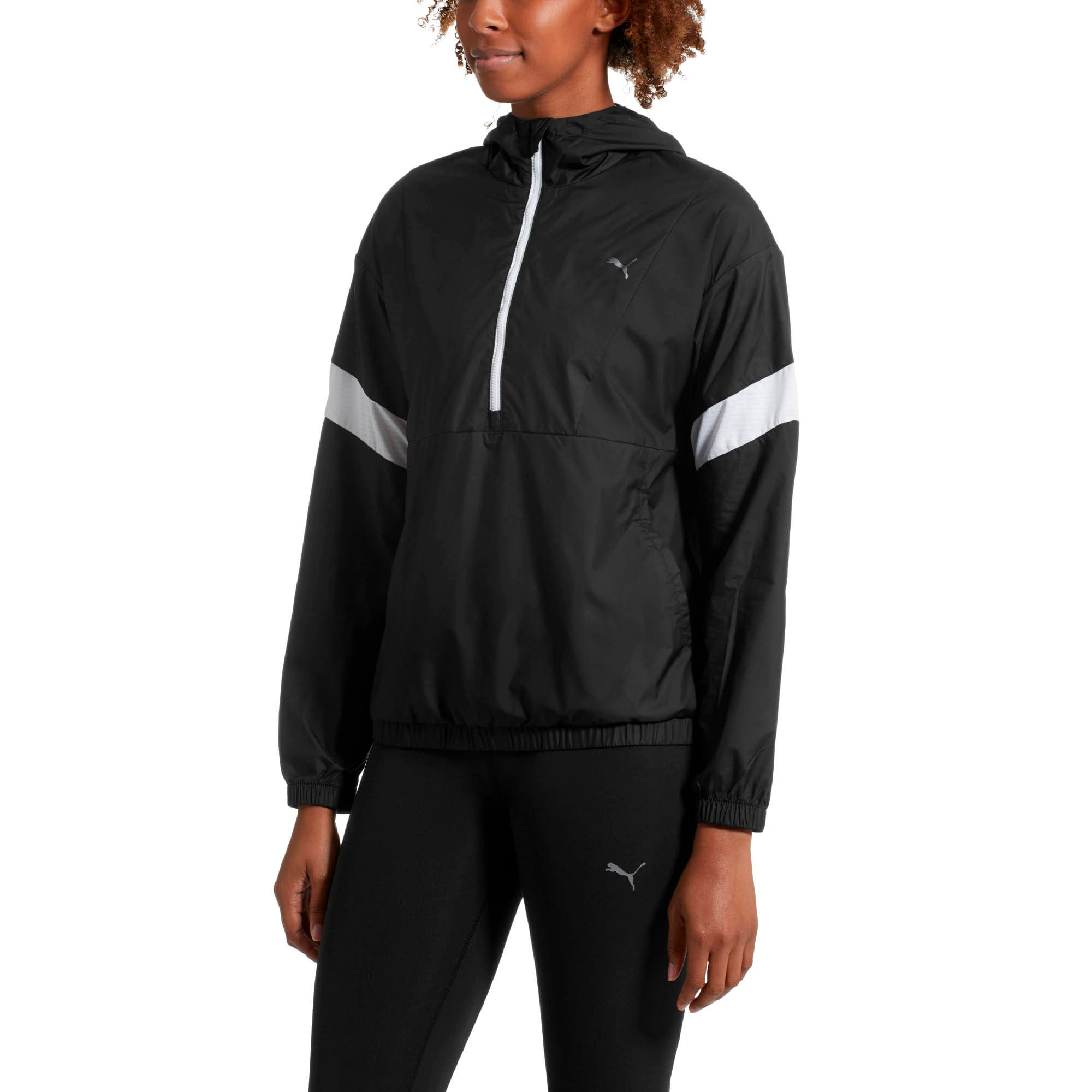 Thumbnail 2 of A.C.E Women's Jacket, Puma Black-Puma White, medium