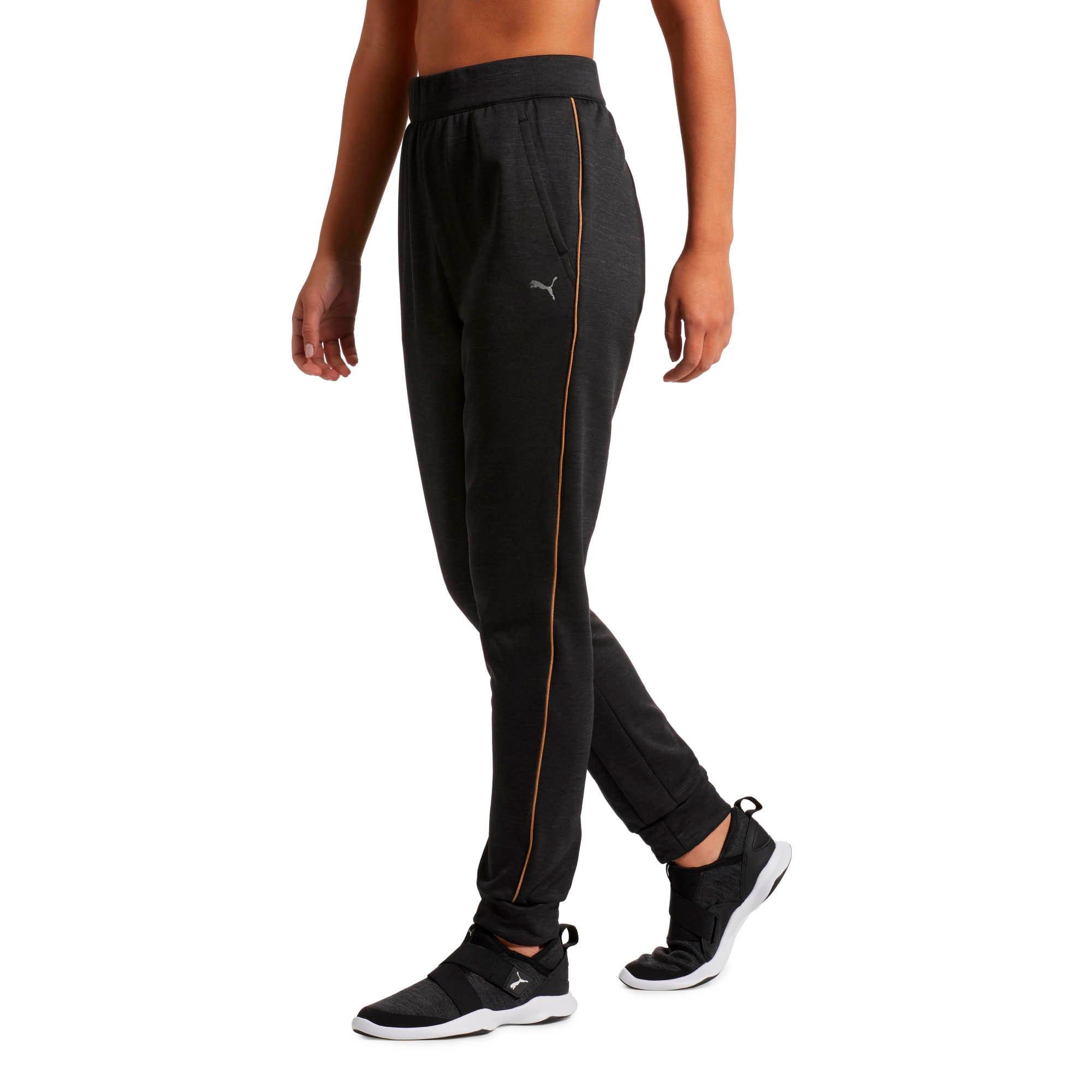 Thumbnail 2 of Be Ready Women's Sweatpants, Puma Black Heather, medium