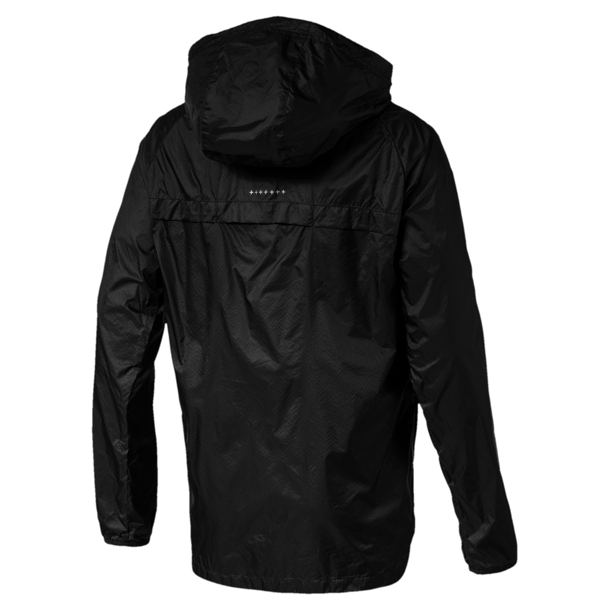 Thumbnail 3 of Lightweight Hooded Men's Jacket, Puma Black, medium