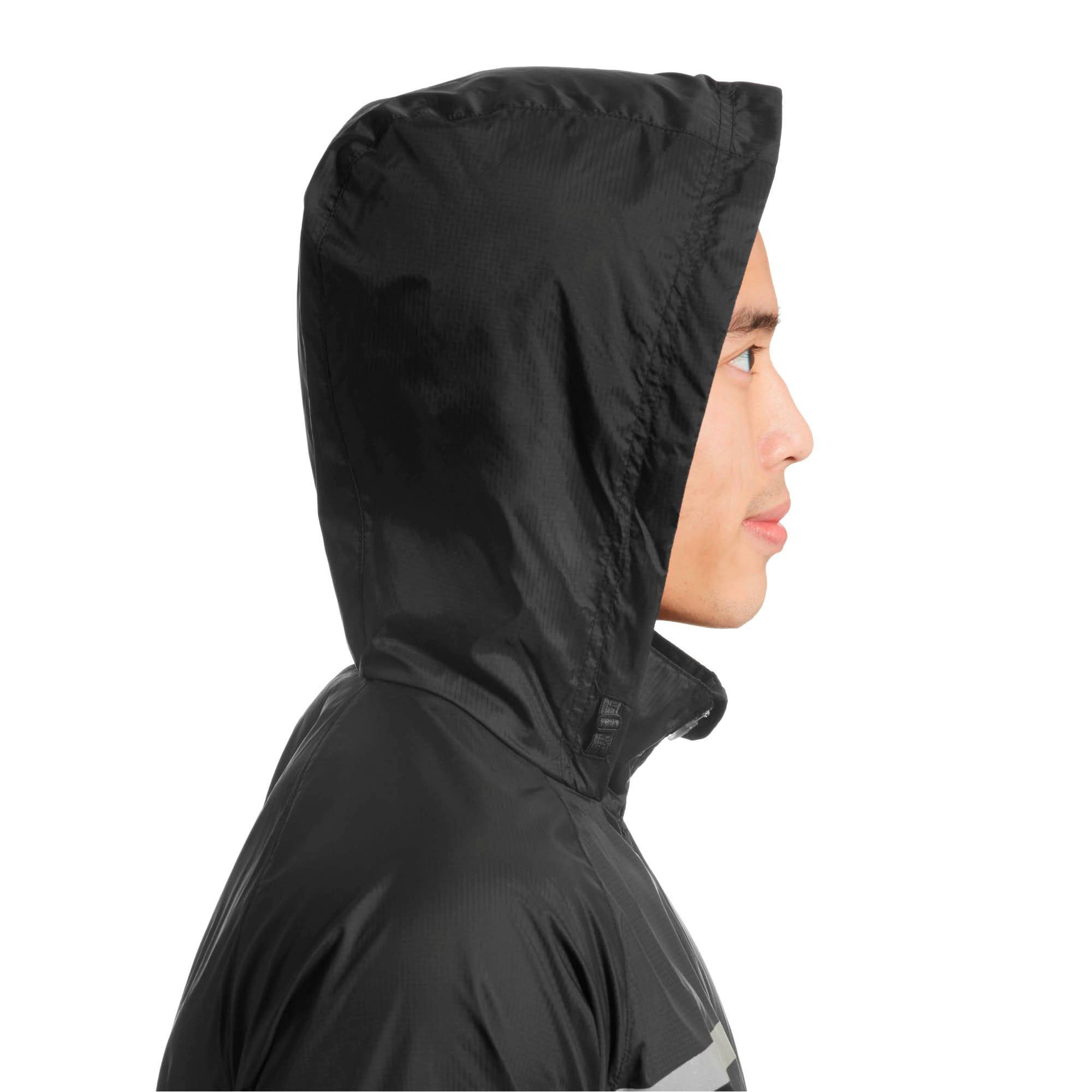Thumbnail 4 of Lightweight Hooded Men's Jacket, Puma Black, medium