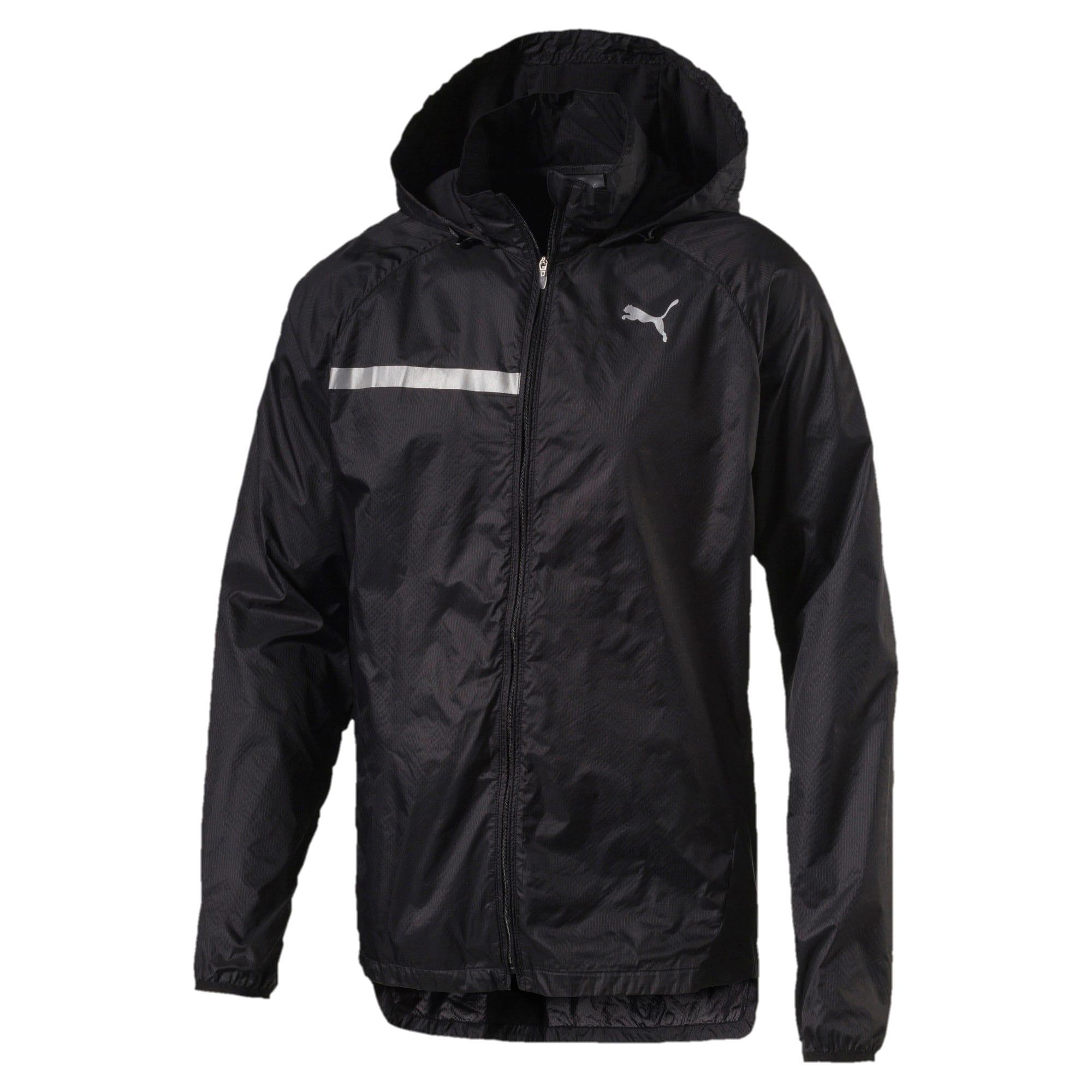 Thumbnail 1 of Lightweight Hooded Men's Jacket, Puma Black, medium