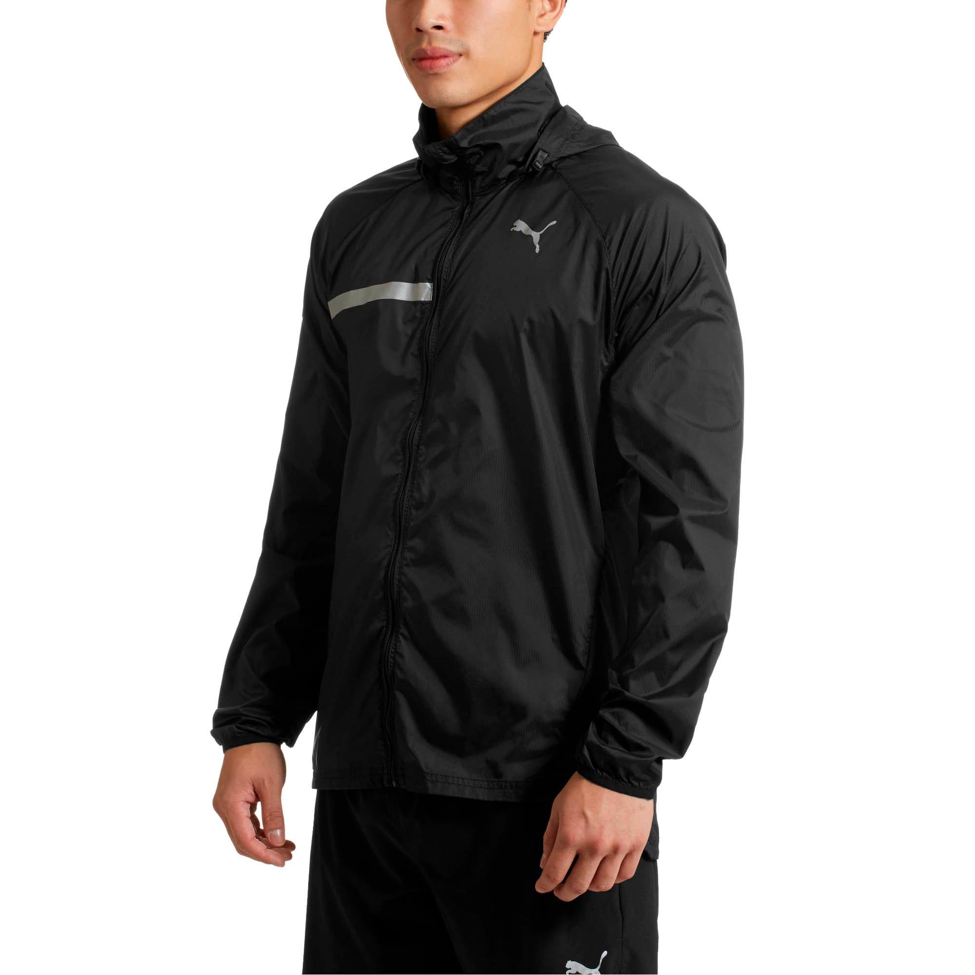 Thumbnail 2 of Lightweight Hooded Men's Jacket, Puma Black, medium