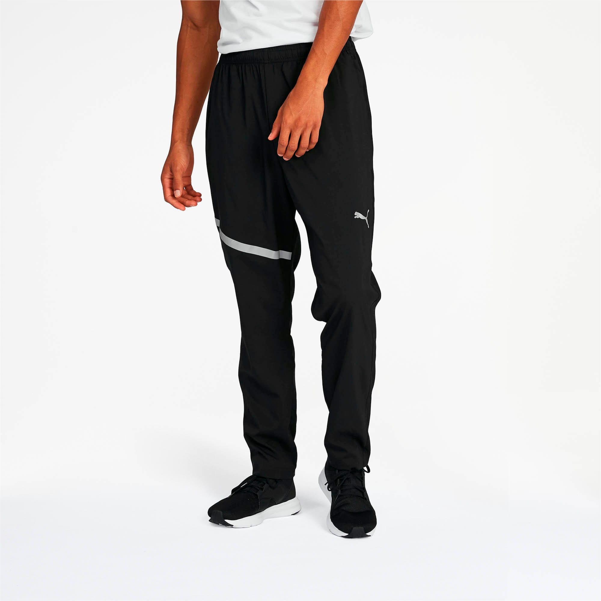 Thumbnail 1 of Ignite Woven Pants, Puma Black, medium