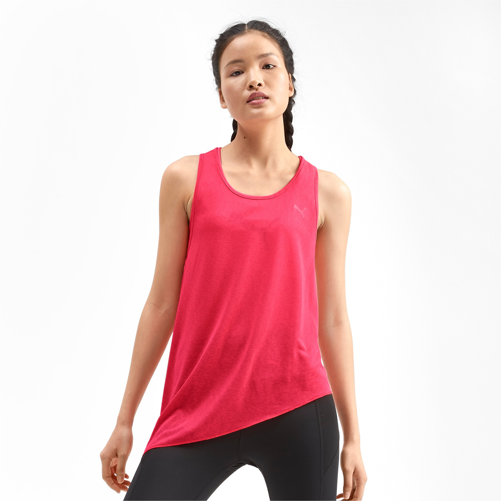 Thumbnail 1 of Top Training A.C.E. Mono Tank pour femme, Pink Alert, medium