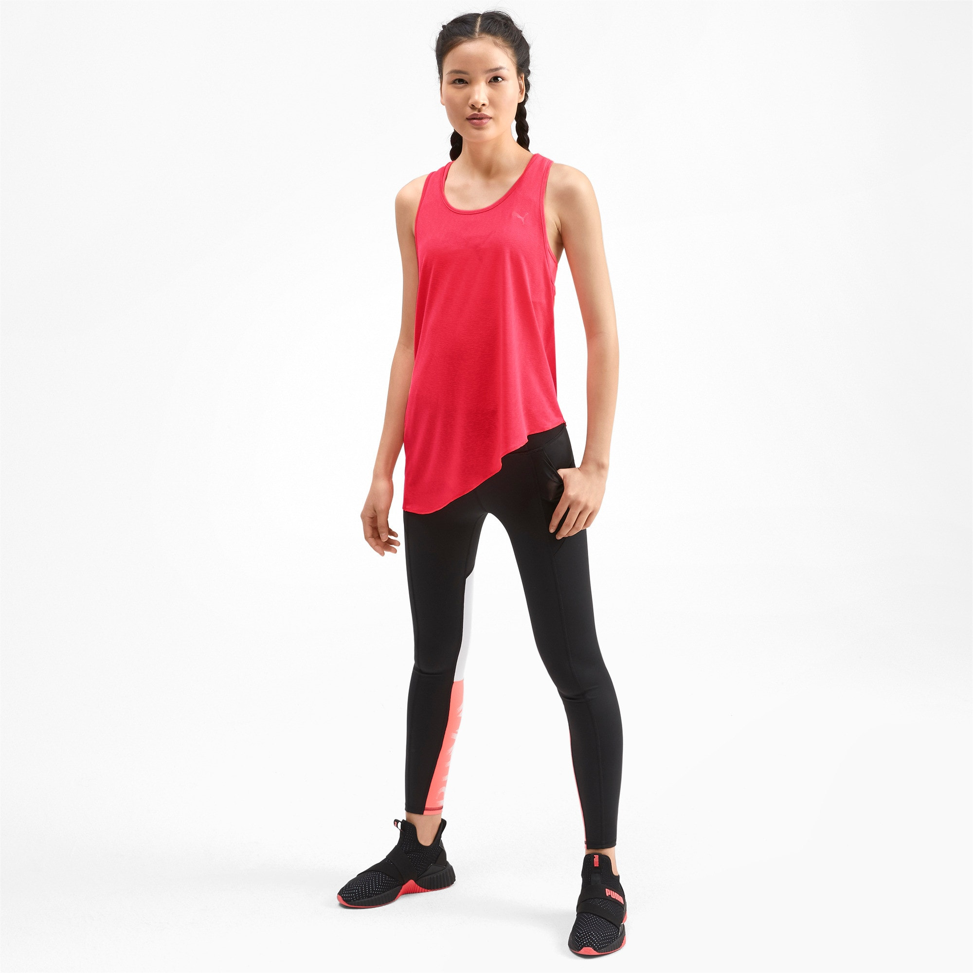 Thumbnail 3 of Top Training A.C.E. Mono Tank pour femme, Pink Alert, medium