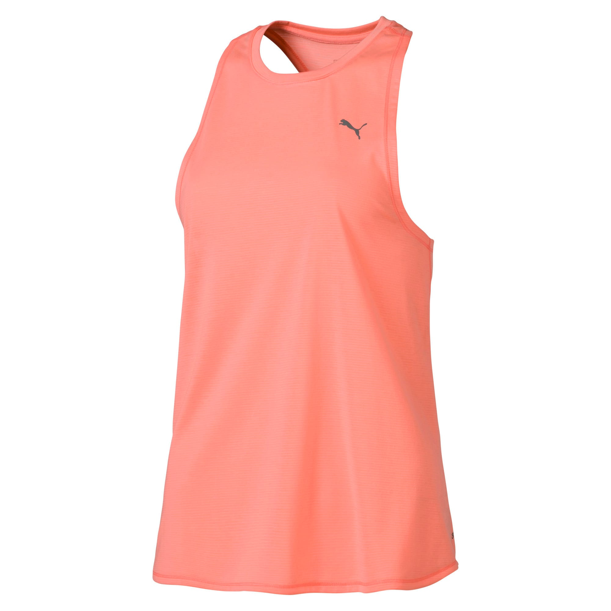 Thumbnail 4 of Running Women's IGNITE Mono Tank Top, Bright Peach, medium