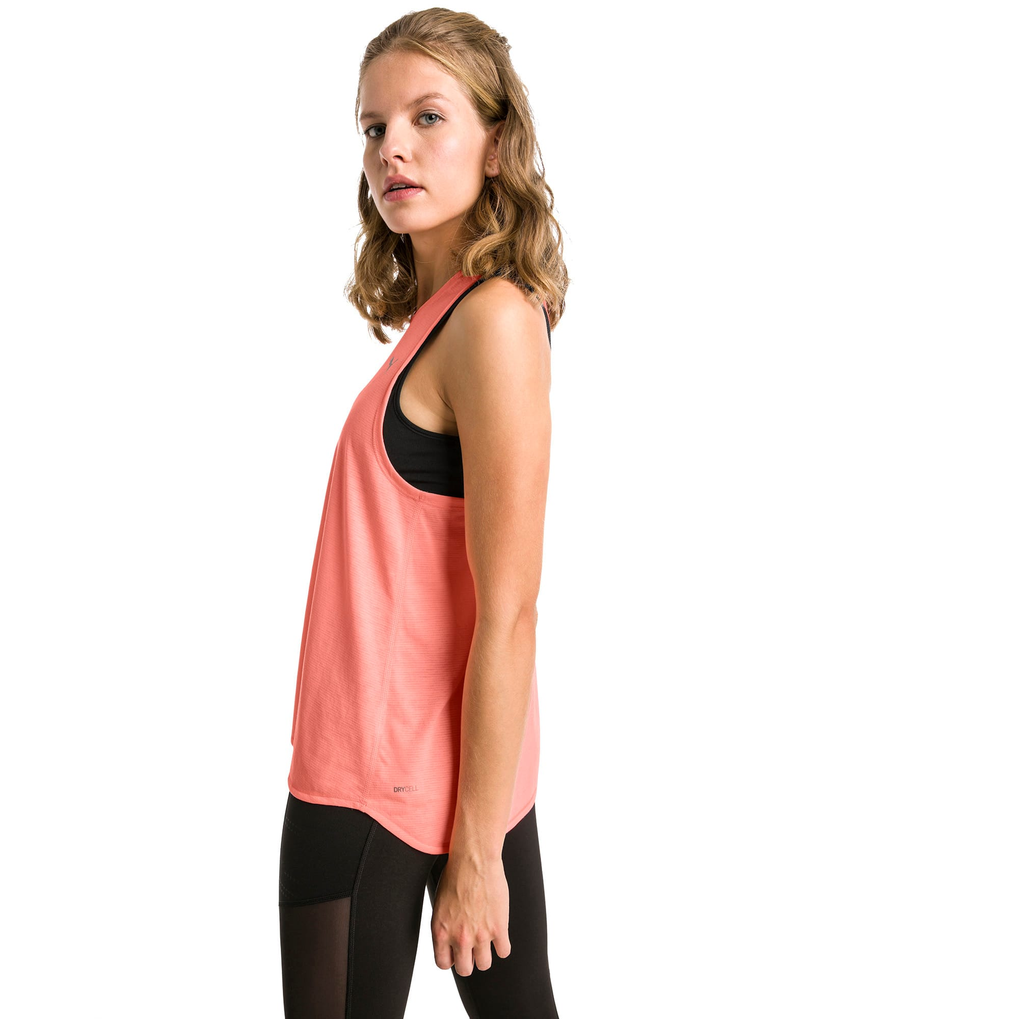 Thumbnail 1 of Running Women's IGNITE Mono Tank Top, Bright Peach, medium