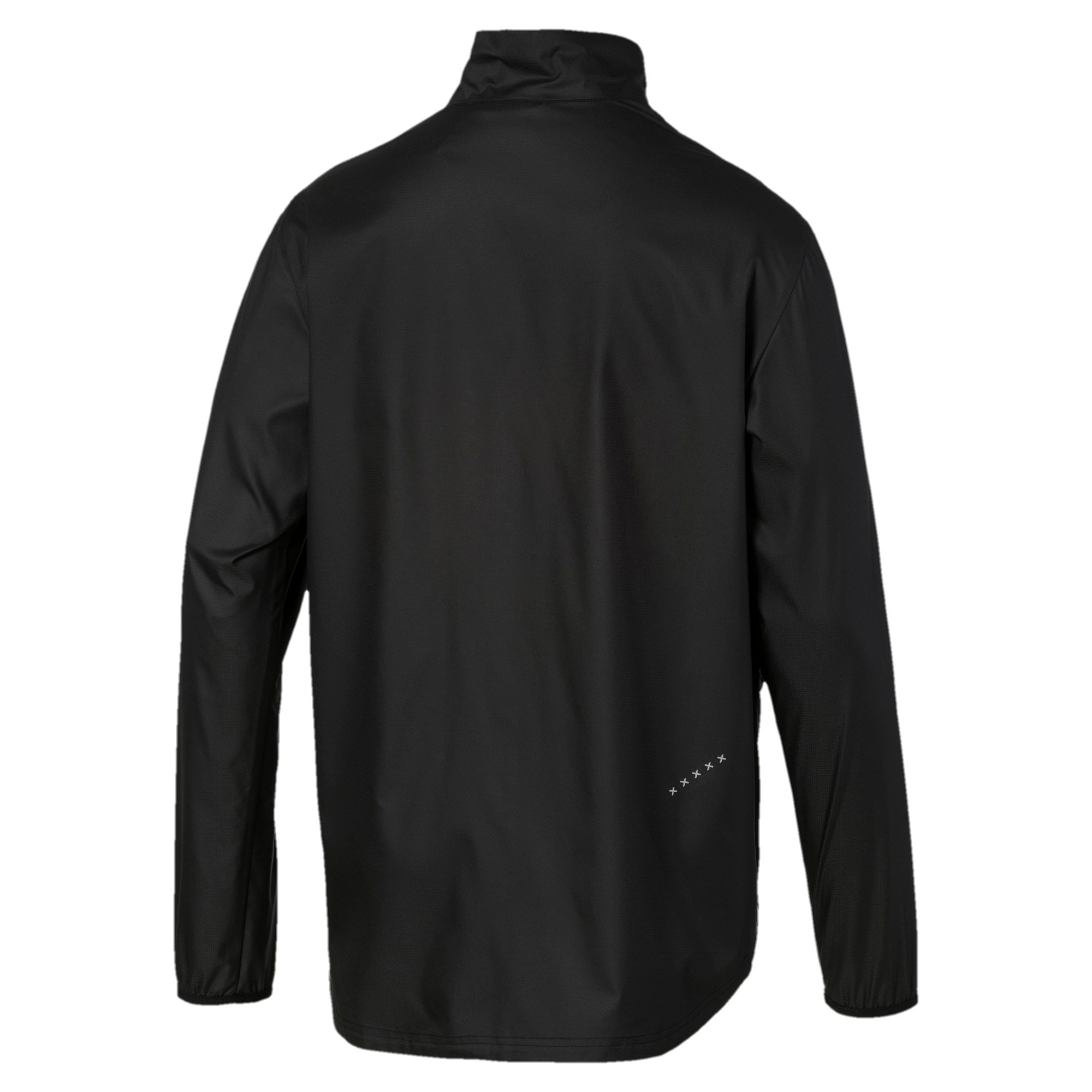 IGNITE Woven Men's Running Track Jacket, Puma Black-Puma Black, large