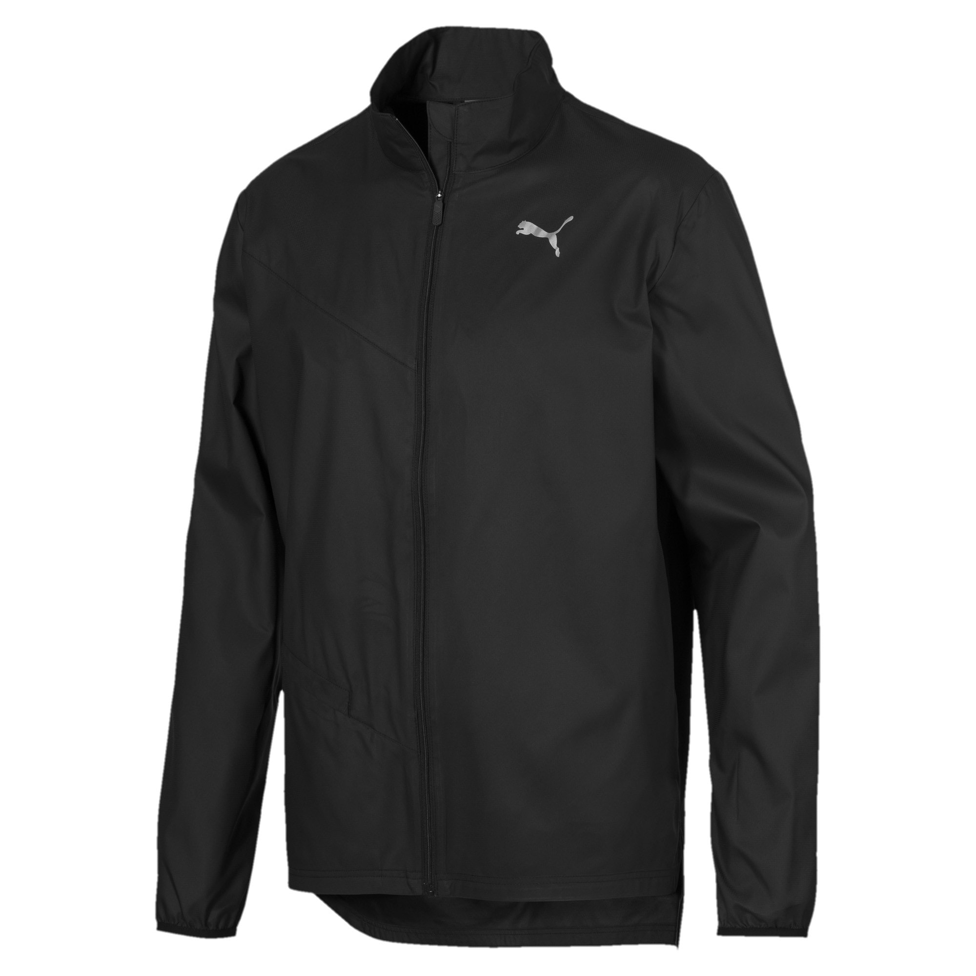 Thumbnail 4 of IGNITE Woven Men's Running Track Jacket, Puma Black-Puma Black, medium