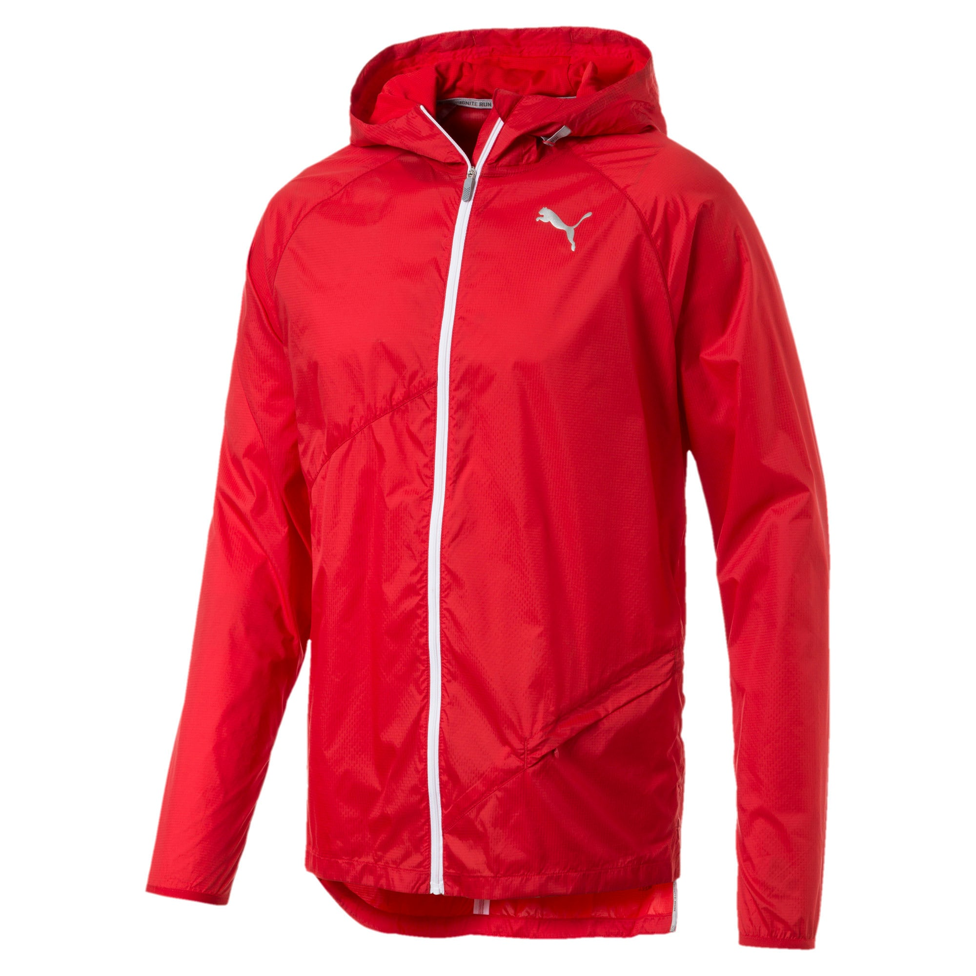 Thumbnail 5 of Lightweight Full Zip Hooded Men's Jacket, High Risk Red, medium