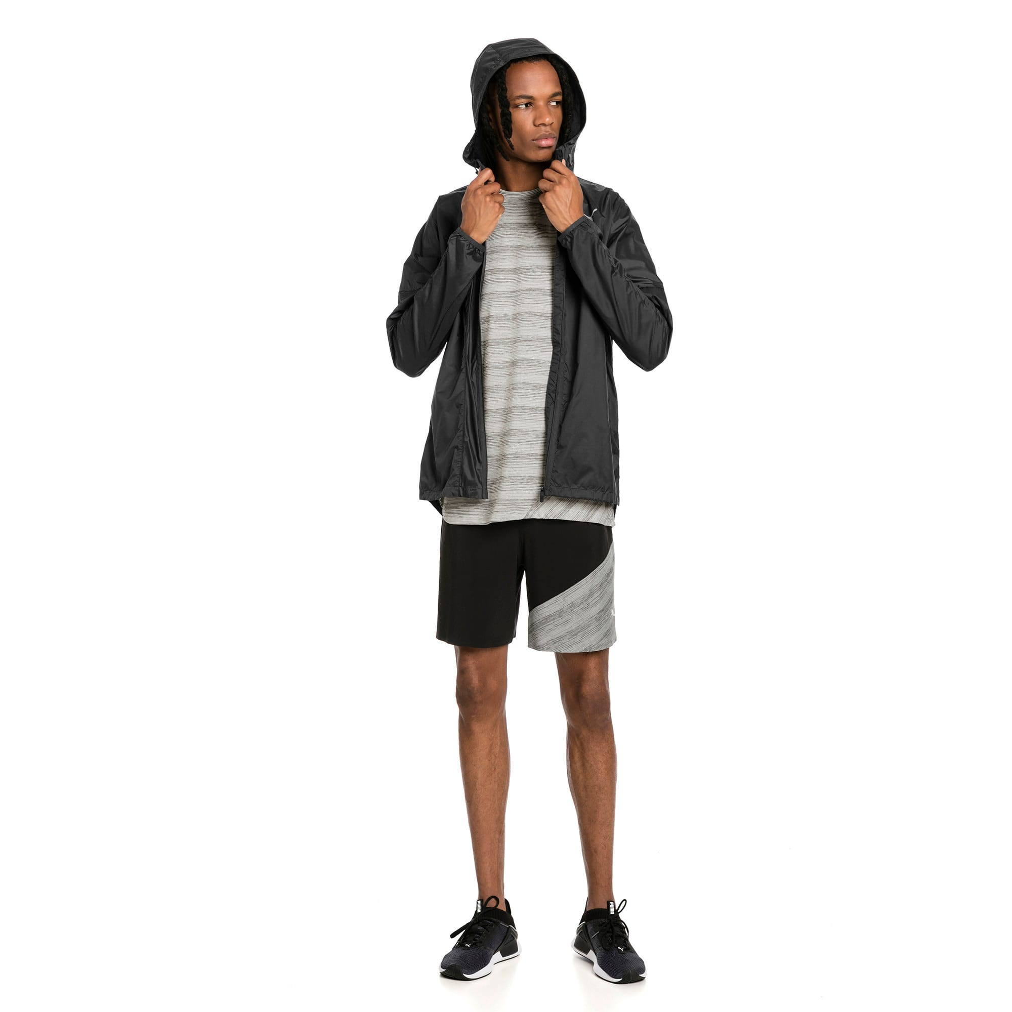 Thumbnail 3 of LastLap Herren Training Jacke, Asphalt Heather, medium