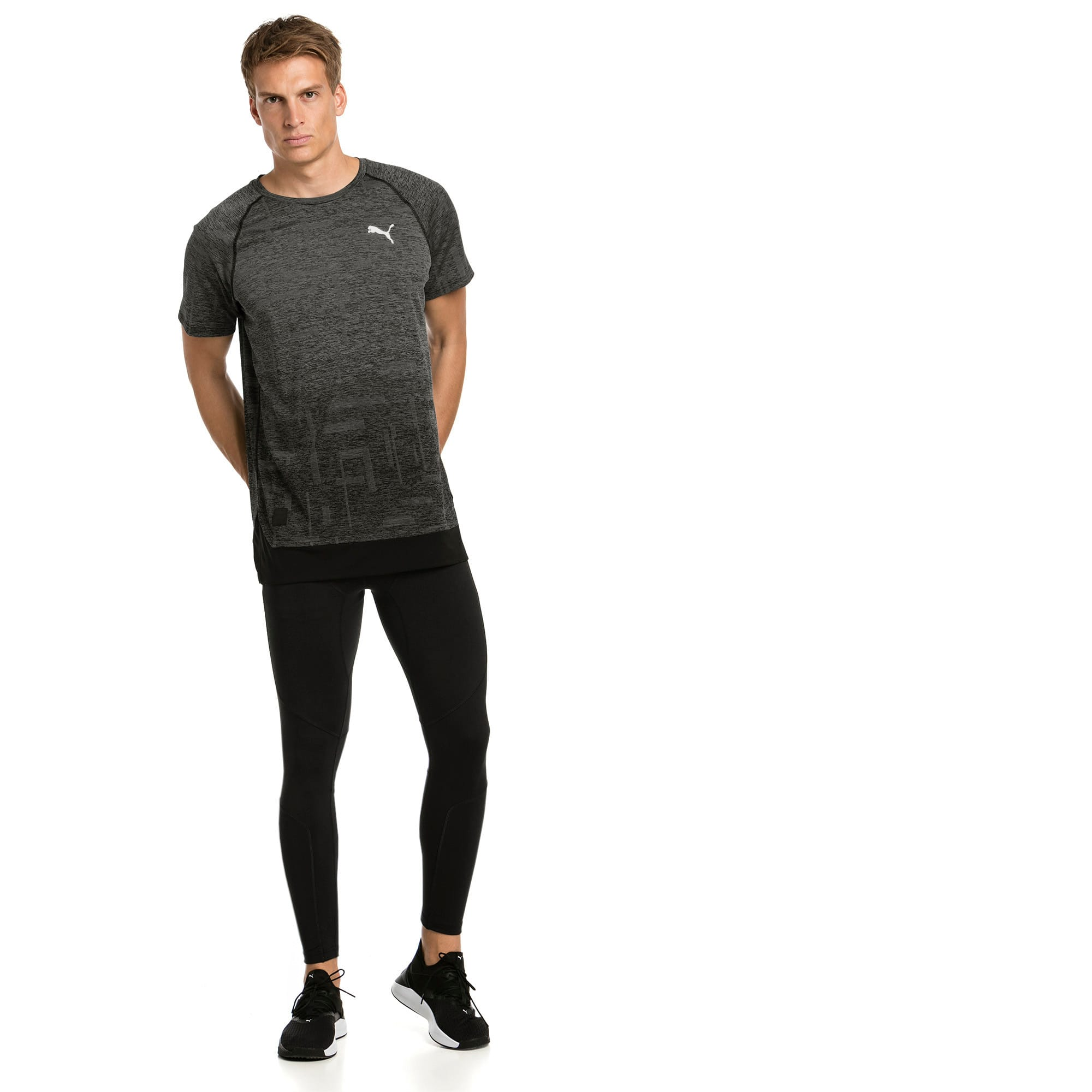 Thumbnail 3 of T-Shirt Energy Tech Training pour homme, Puma Black, medium