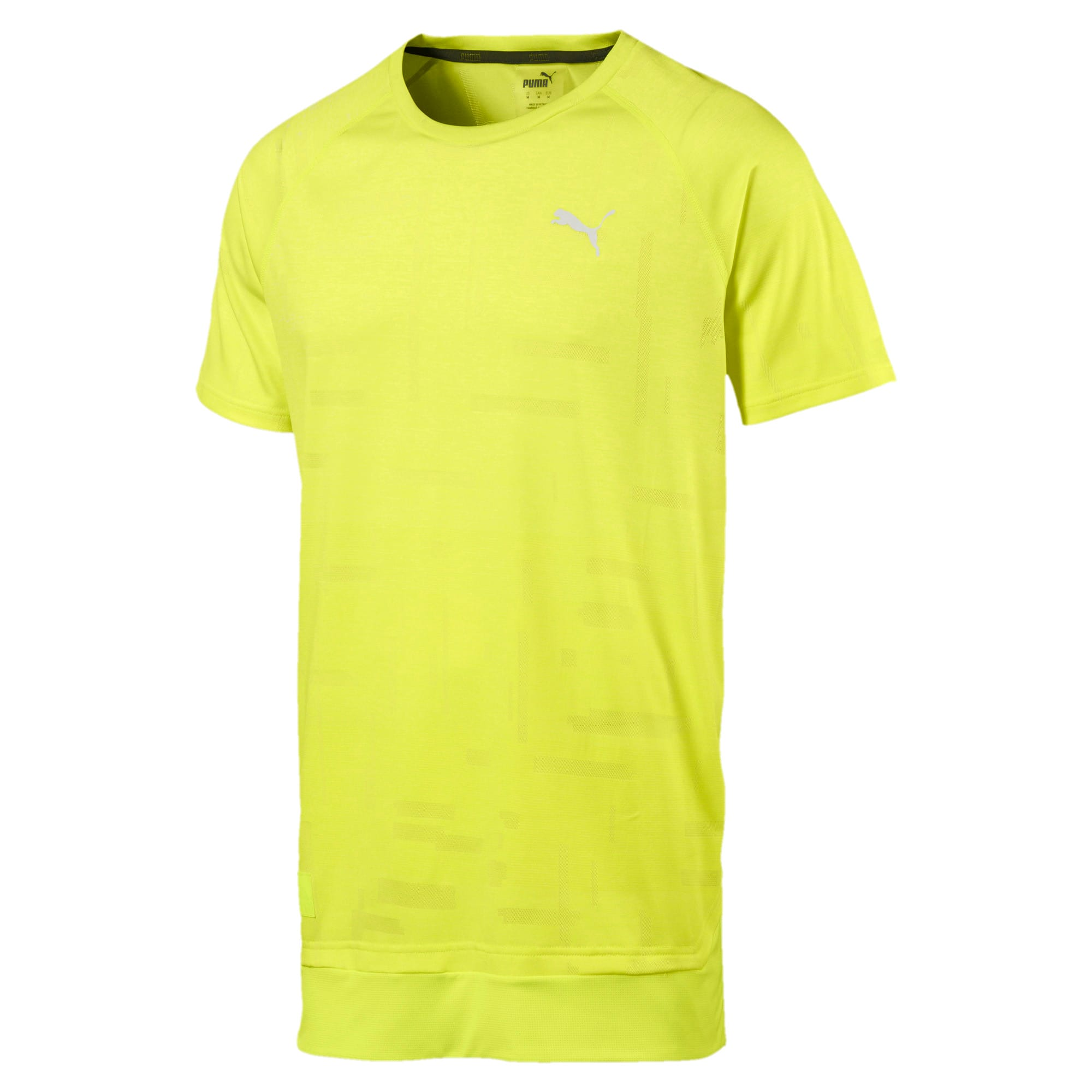 Thumbnail 4 of T-Shirt Energy Tech Training pour homme, Fizzy Yellow, medium