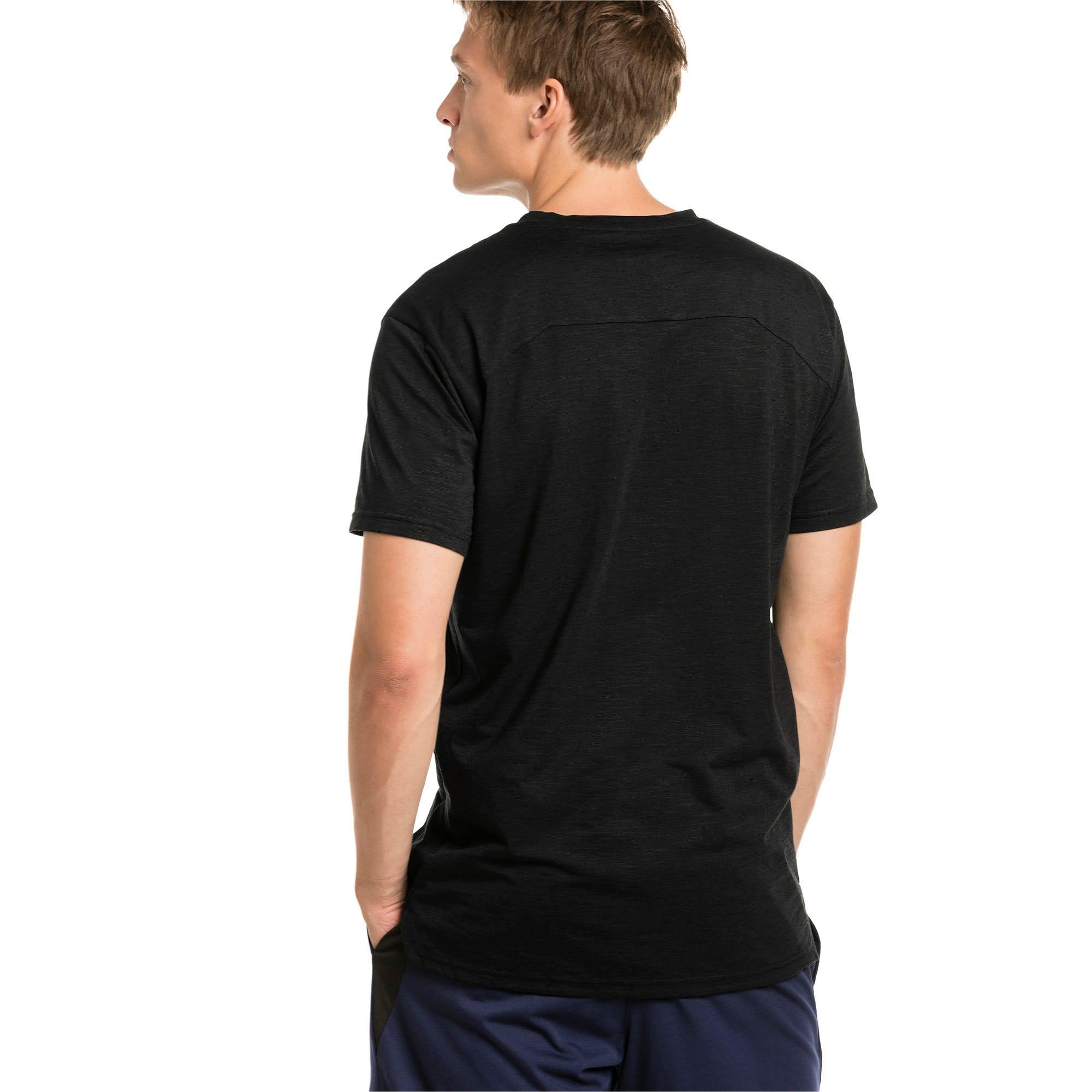 Thumbnail 2 of Energy Herren Training T-Shirt, Puma Black Heather, medium