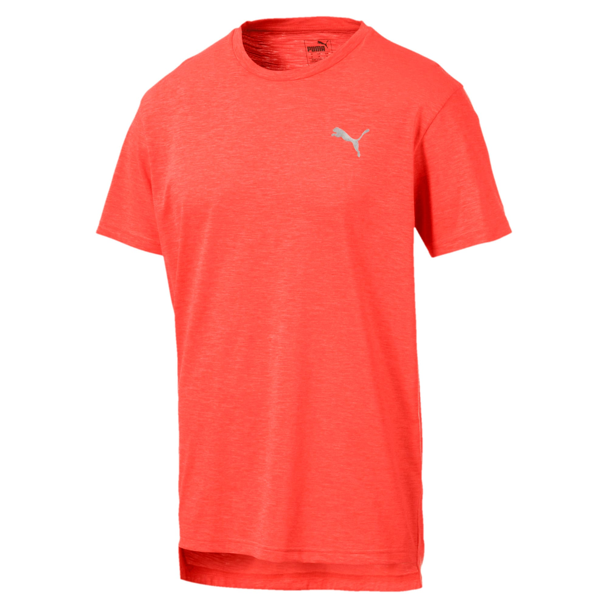 Thumbnail 4 of Energy Short Sleeve Men's Training Tee, Nrgy Red Heather, medium