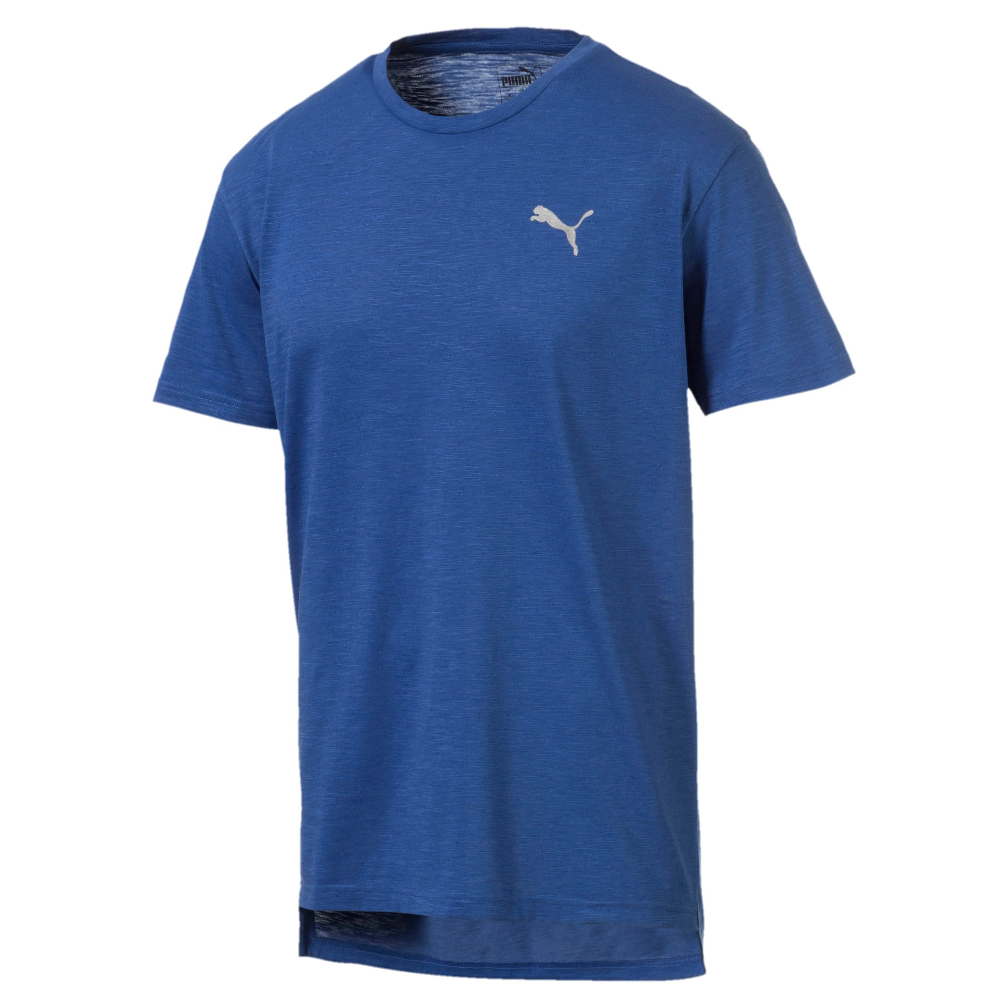 Thumbnail 4 of Energy Herren Training T-Shirt, Galaxy Blue Heather, medium