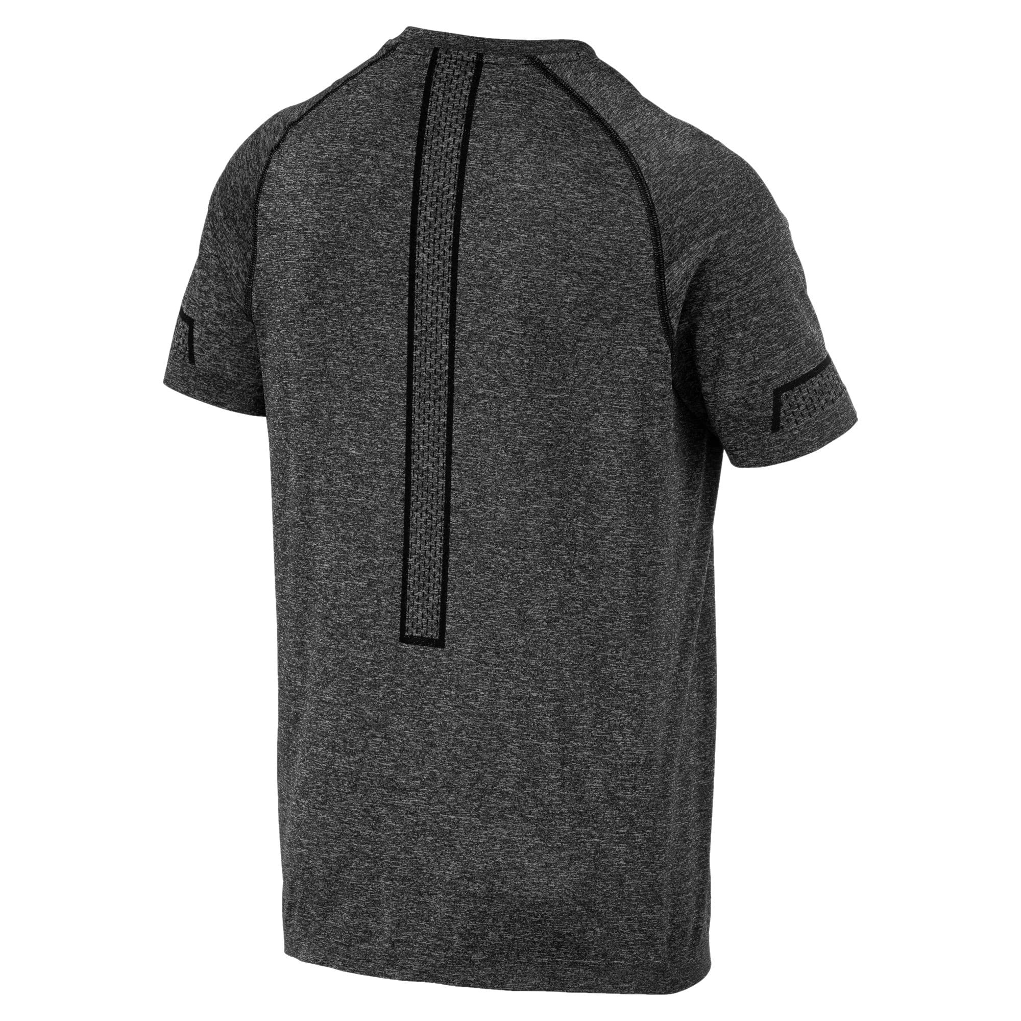Thumbnail 5 of T-Shirt Energy Seamless Training pour homme, Puma Black Heather, medium