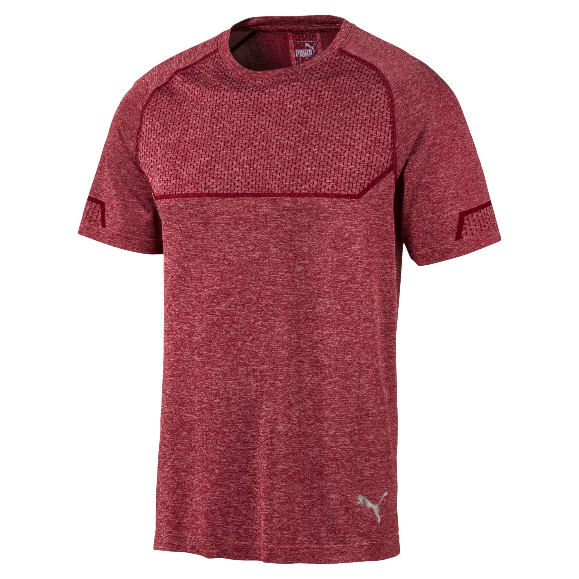 Thumbnail 4 of T-Shirt Energy Seamless Training pour homme, Rhubarb Heather, medium