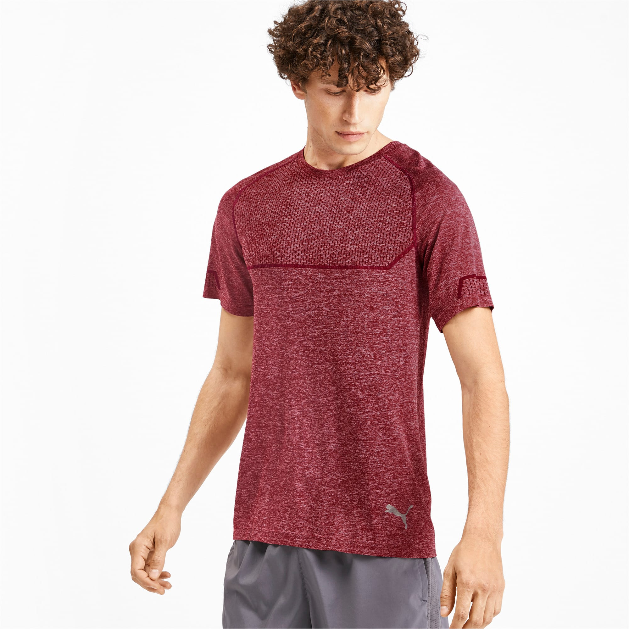 Thumbnail 1 of T-Shirt Energy Seamless Training pour homme, Rhubarb Heather, medium
