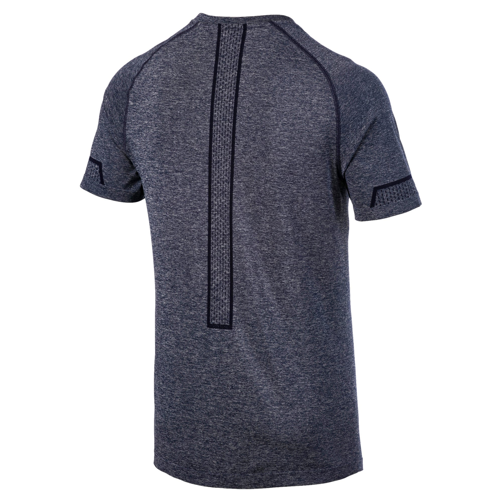 Thumbnail 5 of Energy Seamless Men's Training Tee, Peacoat Heather, medium