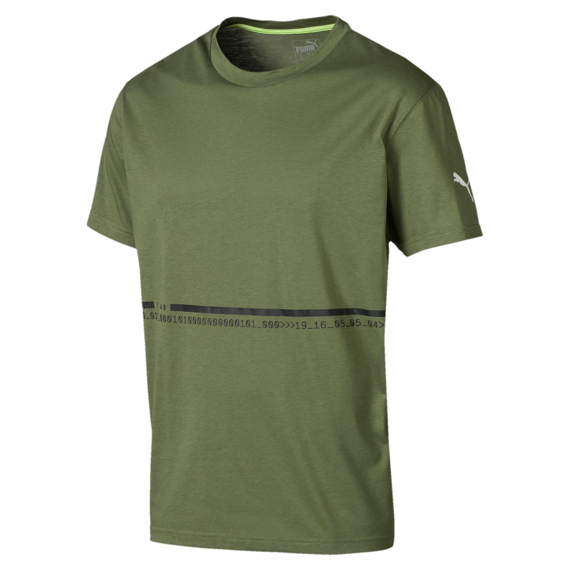 Thumbnail 1 of Energy Triblend Herren T-Shirt, Olivine, medium