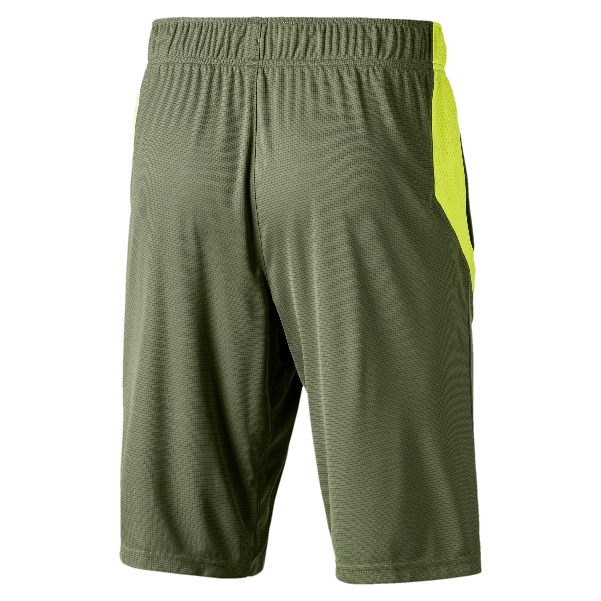 Thumbnail 2 of Short tricoté Energy Running pour homme, Olivine-Fizzy Yellow, medium