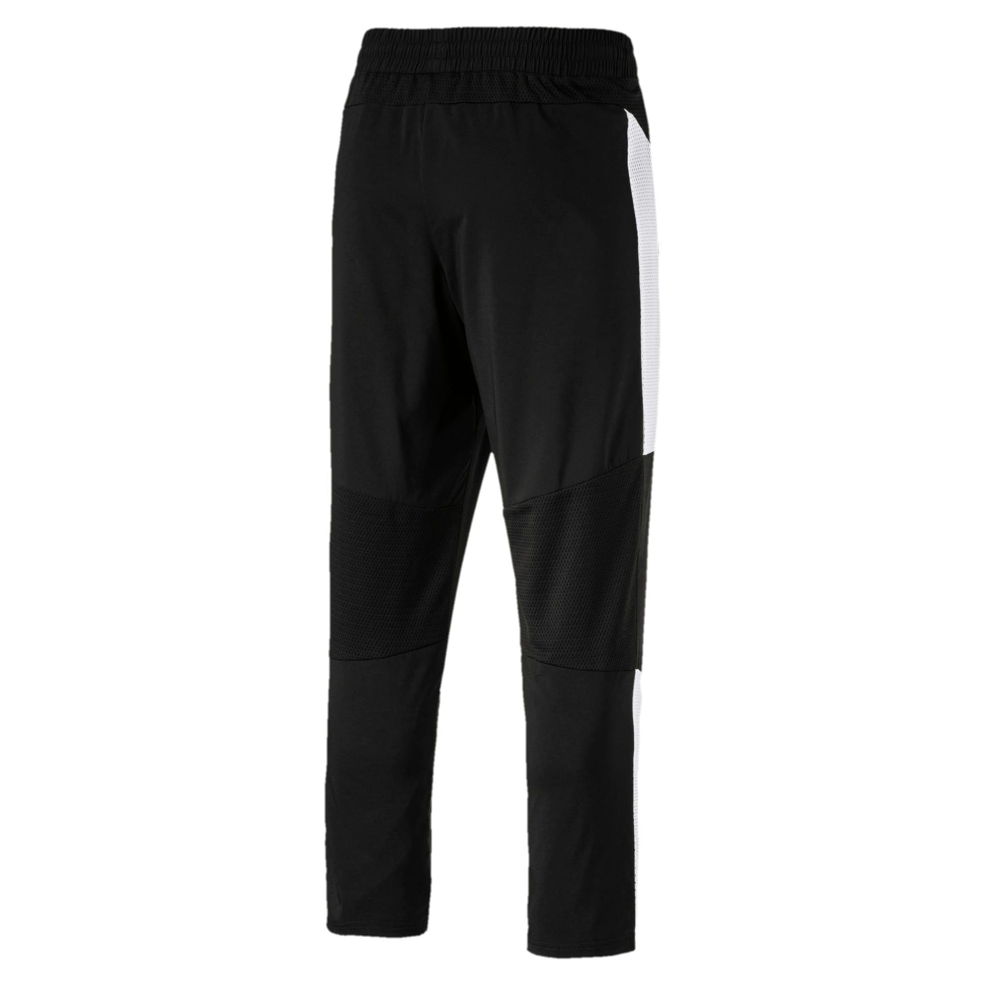 Thumbnail 3 of Energy Blaster Men's Woven Pants, Puma Black-Puma White, medium