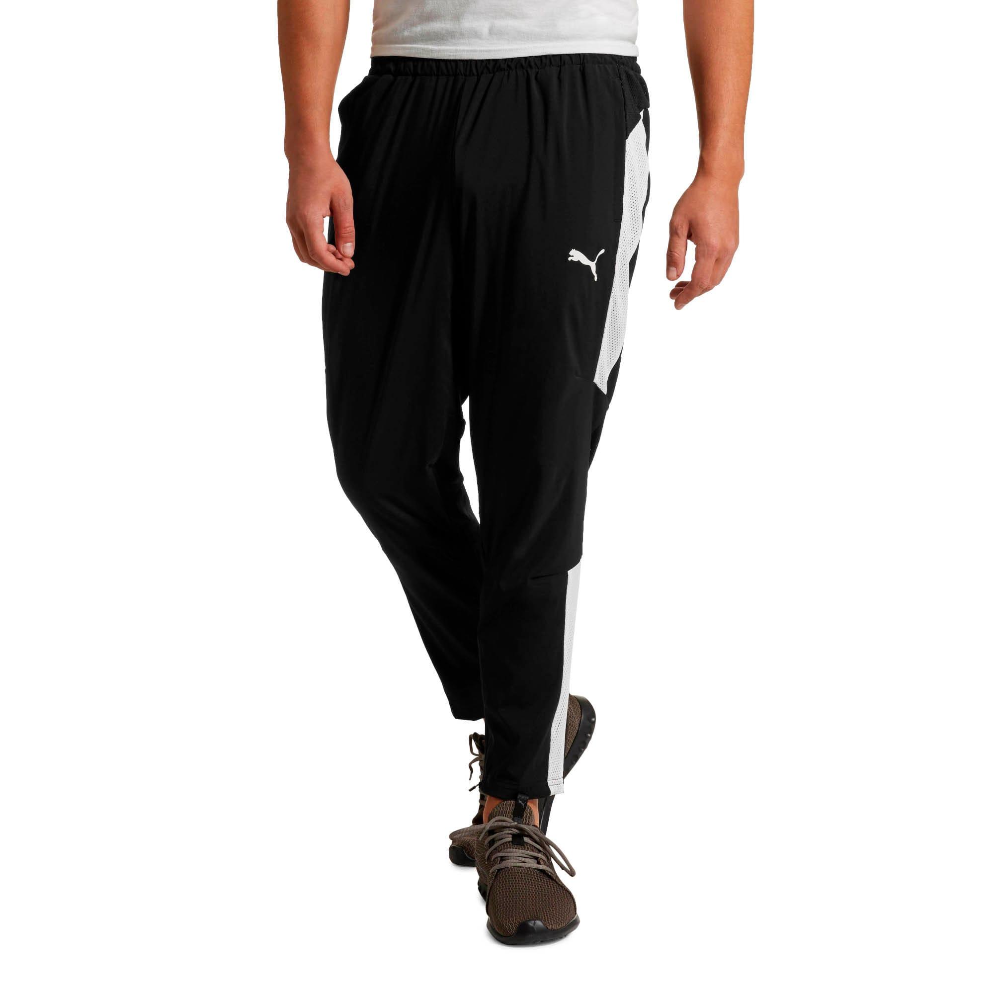 Thumbnail 1 of Energy Blaster Men's Woven Pants, Puma Black-Puma White, medium