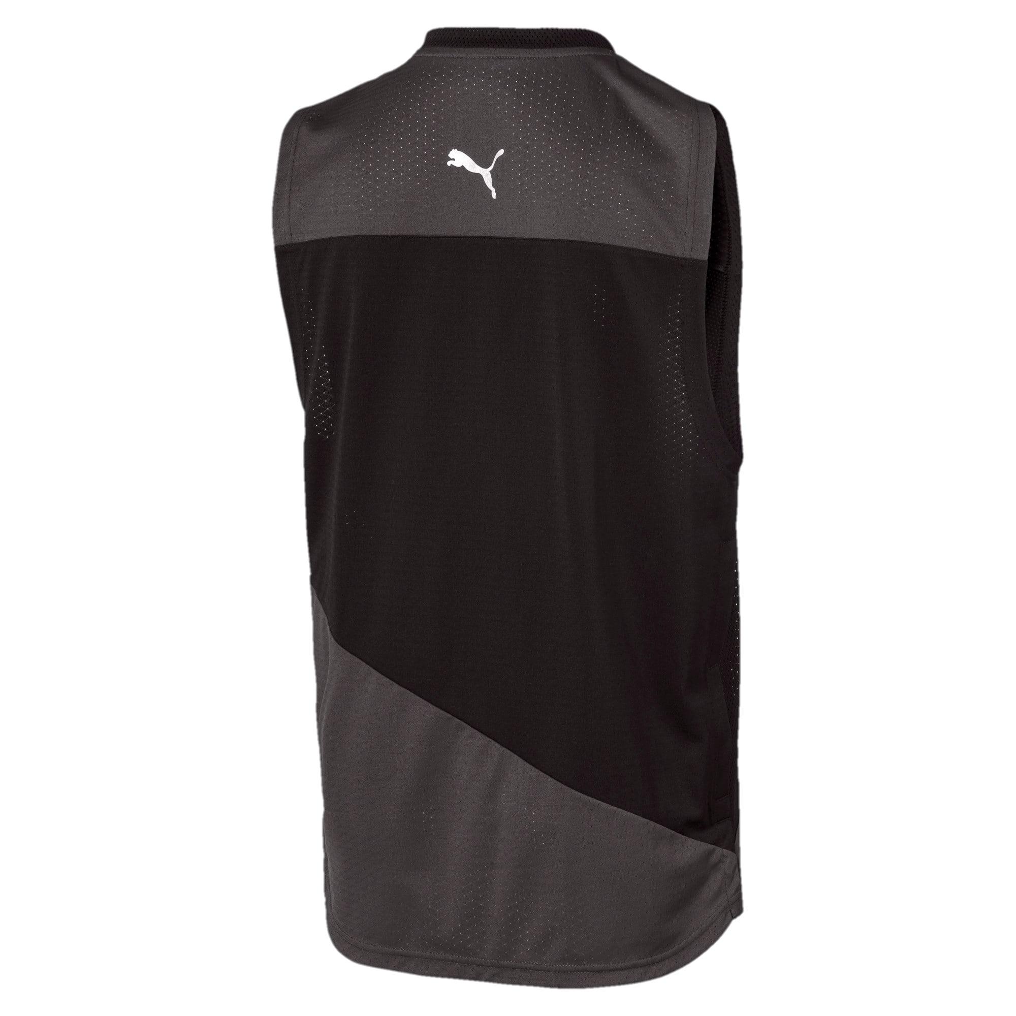 Miniatura 3 de Camiseta sin mangas A.C.E. para hombre, Asphalt-Puma Black, mediano