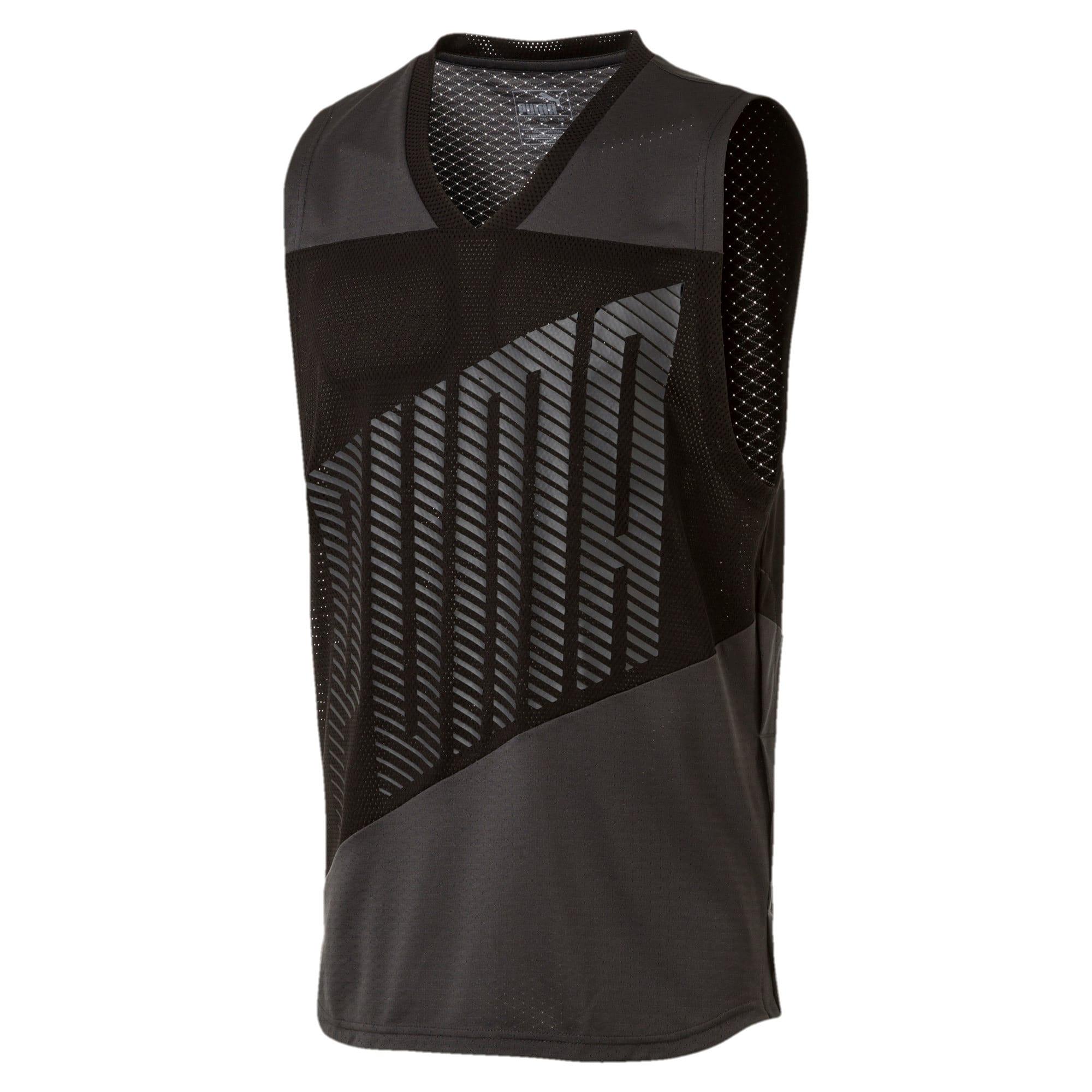 Miniatura 2 de Camiseta sin mangas A.C.E. para hombre, Asphalt-Puma Black, mediano