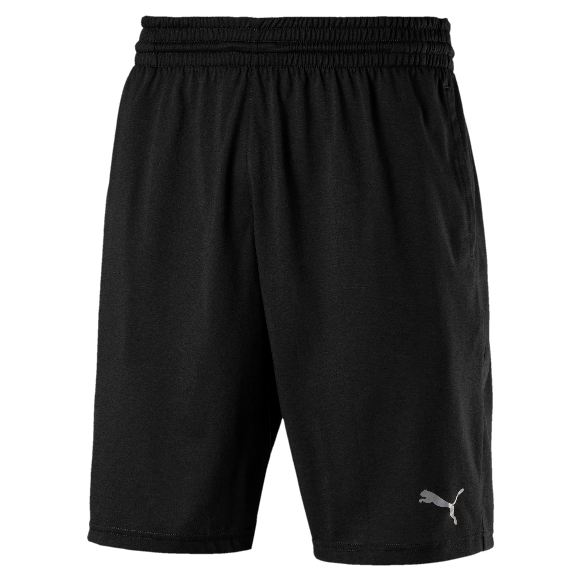 Thumbnail 4 of A.C.E. Knitted Men's Shorts, Puma Black, medium