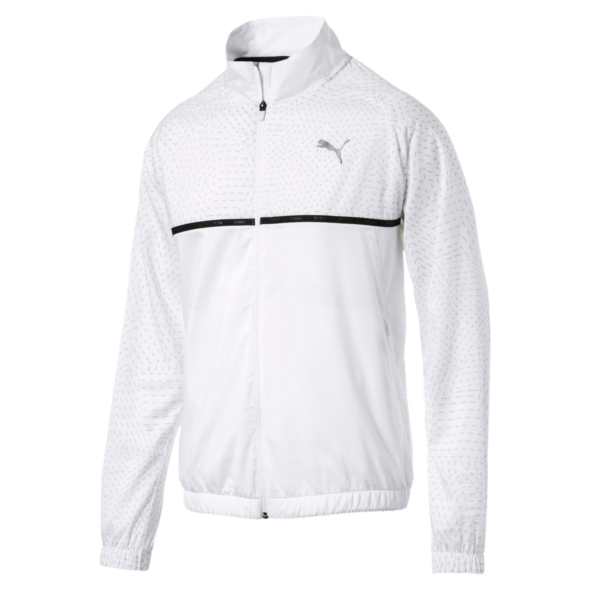 Thumbnail 1 of Energy Woven Men's Sweat Jacket, Puma White, medium