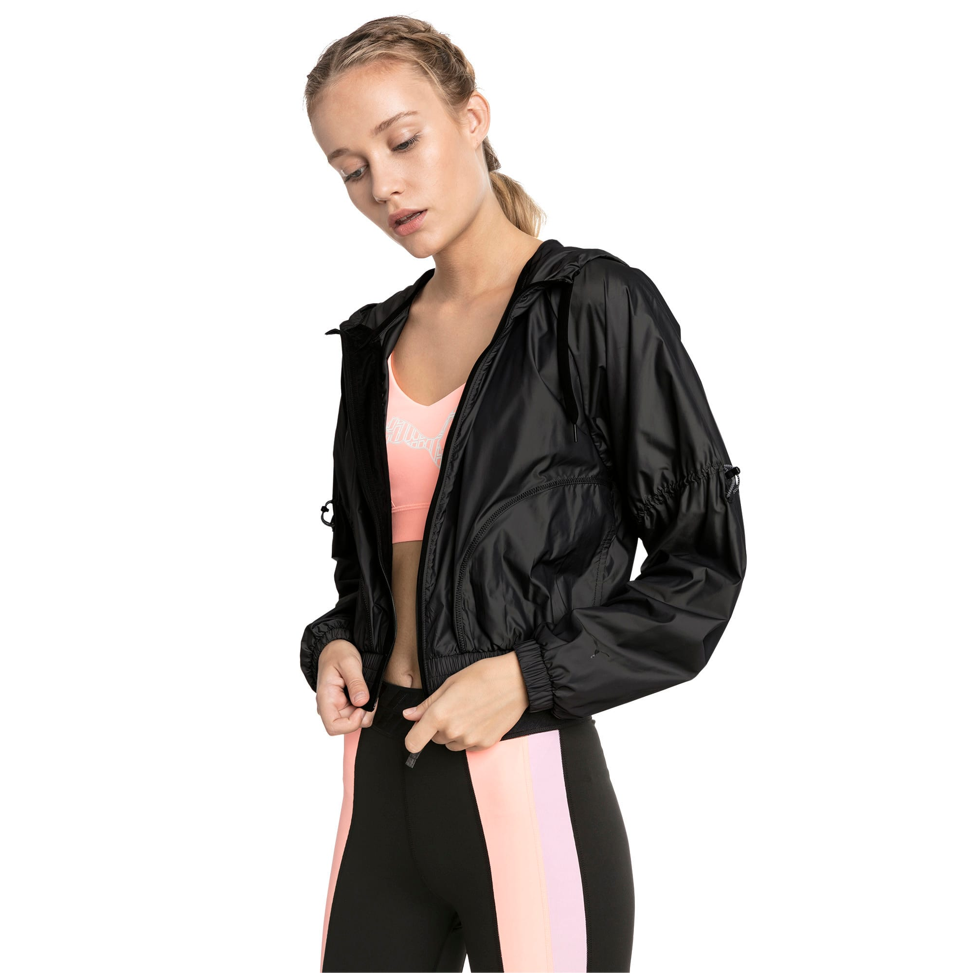 Thumbnail 1 of Cosmic Trailblazer Women's Jacket, Puma Black, medium