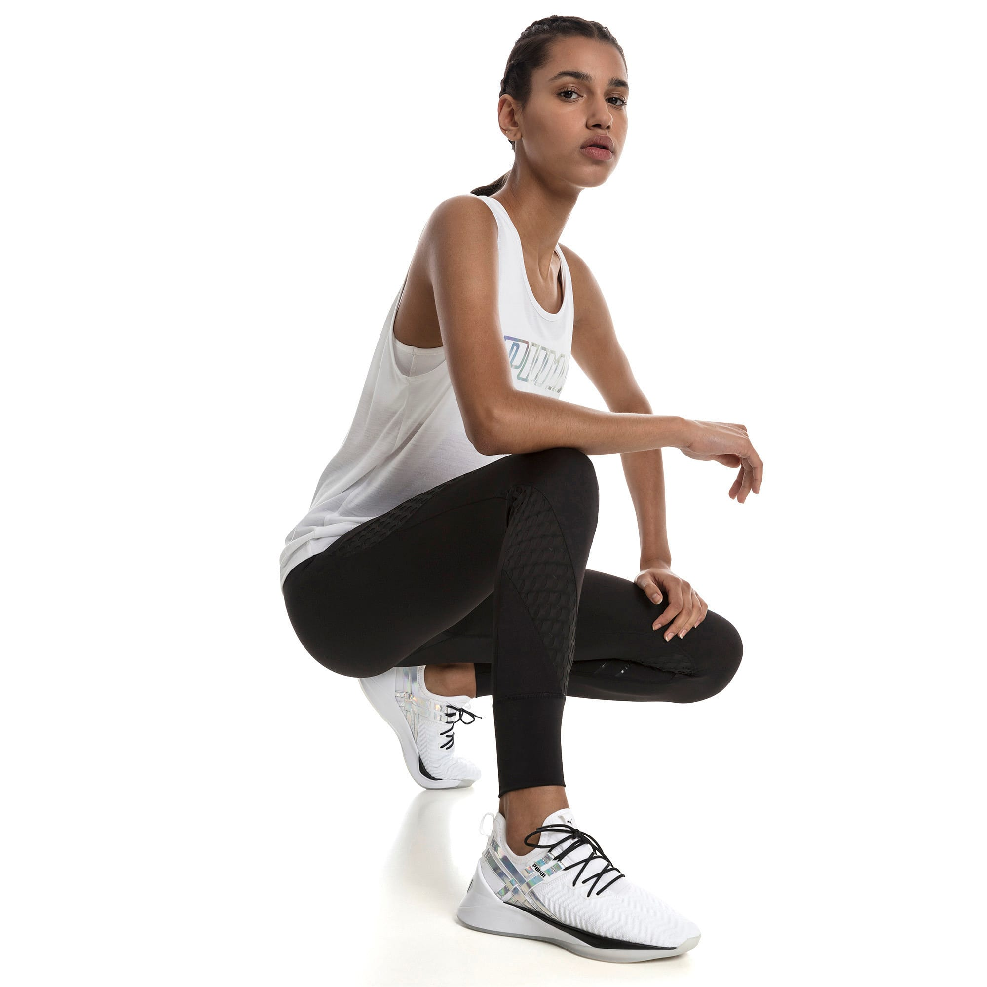 Thumbnail 3 of On the Brink Women's 7/8 Leggings, Puma Black, medium