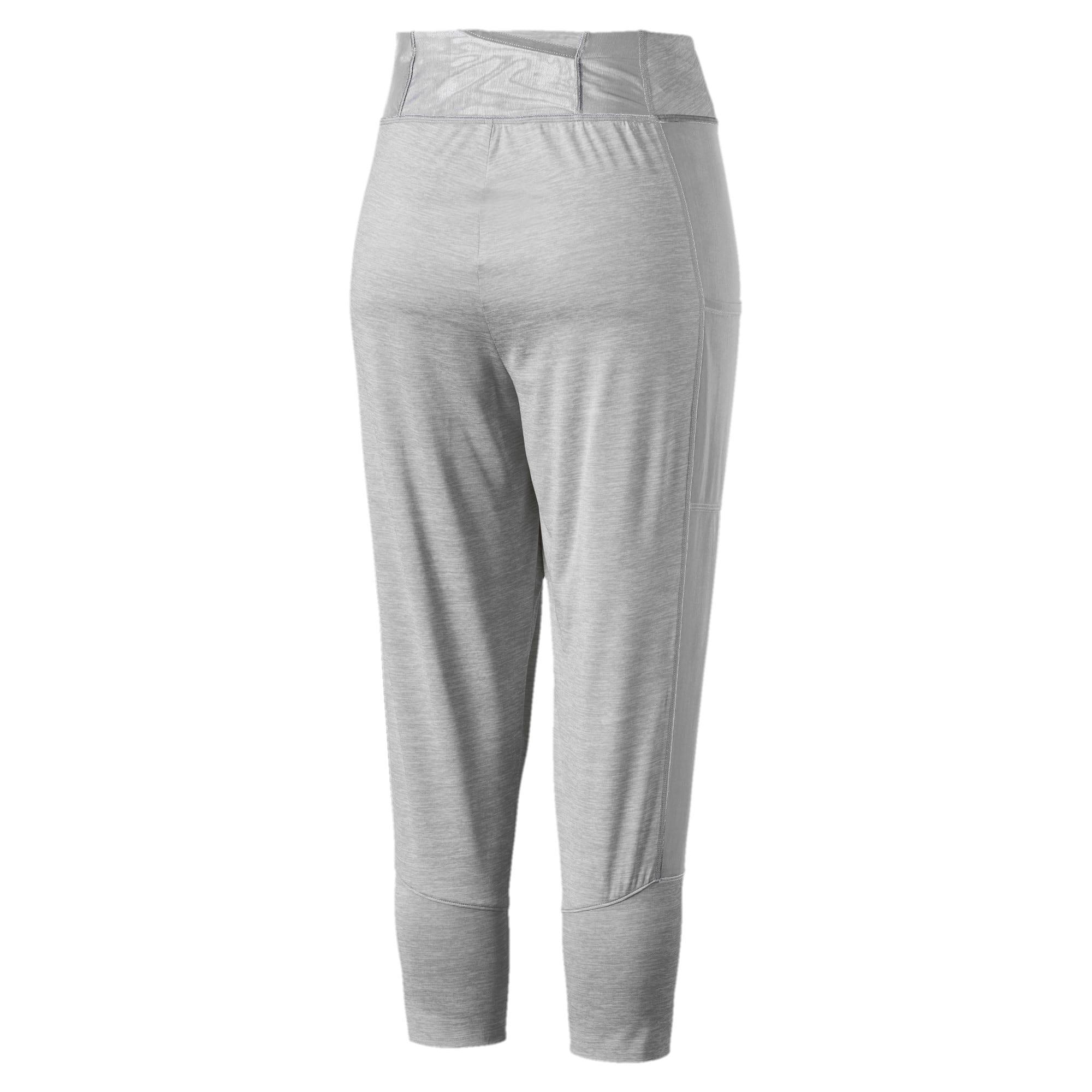 Thumbnail 5 of Knockout Woven Women's 3/4 Pants, Light Gray Heather, medium